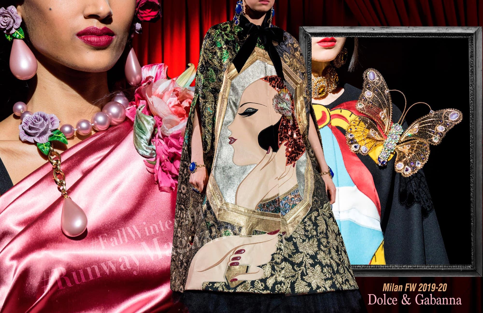 Dolce & Gabbana Fall Winter 2019-2020 Milan by RUNWAY MAGAZINE