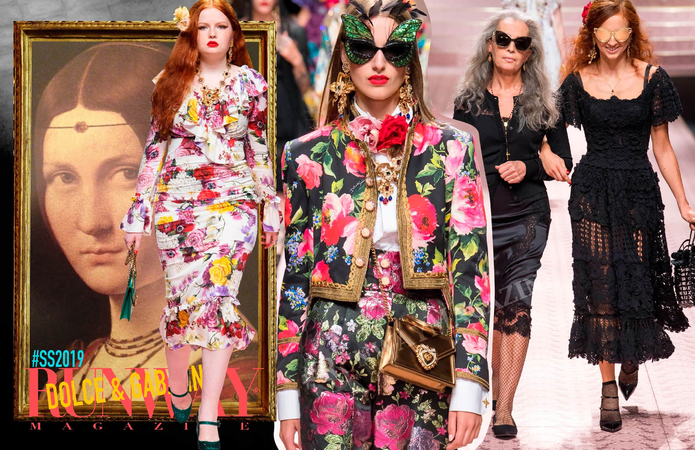 Dolce Gabbana Spring-Summer 2019 by RUNWAY MAGAZINE