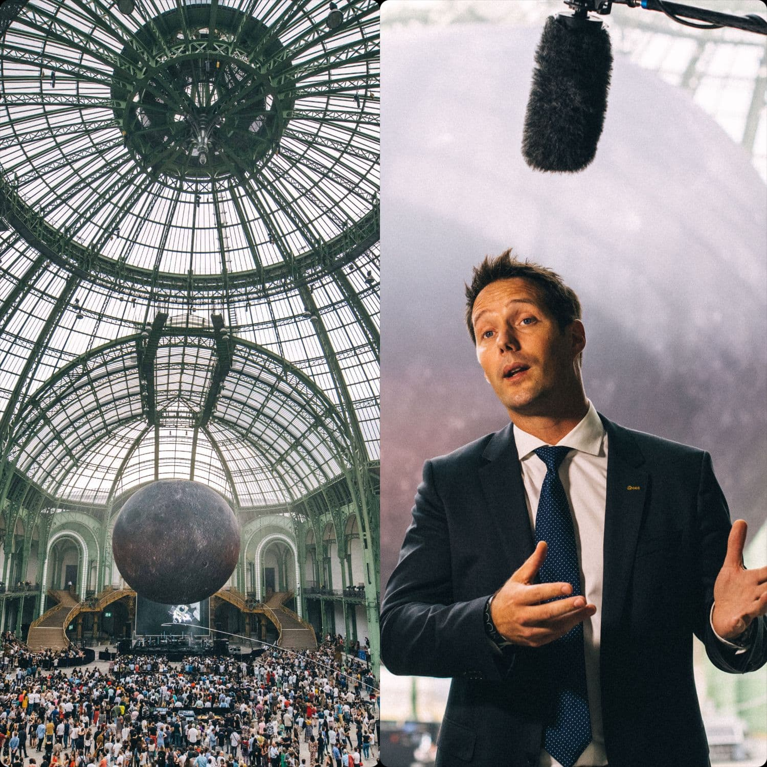 Thomas Pesquet Grand Palais Paris 2019 by Runway Magazine