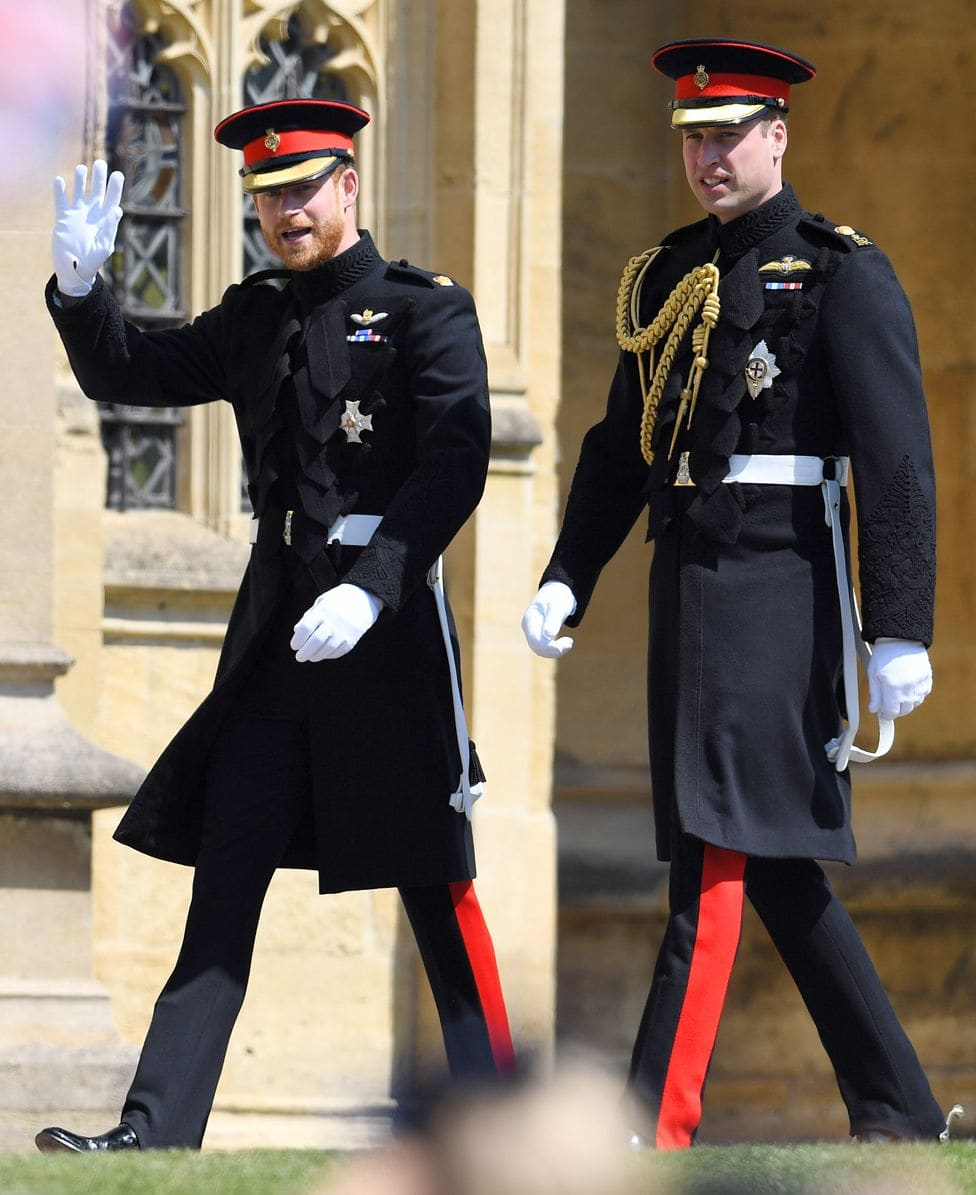 Prince Harry and Prince William - Royal Wedding 2018 by Runway Magazine