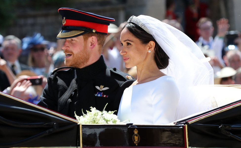Prince Harry, Duke of Sussex, and Meghan Markle - Royal Wedding 2018 by Runway Magazine