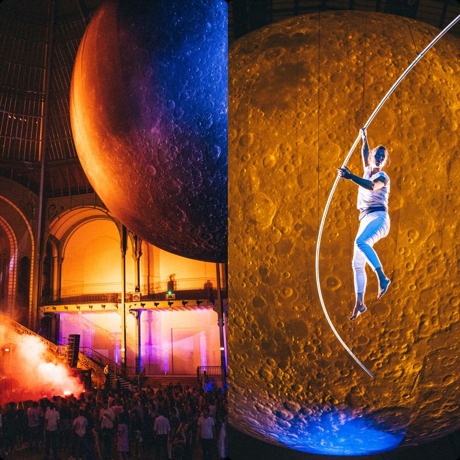 Grand Palais Paris 50th anneversary of first man in a moon