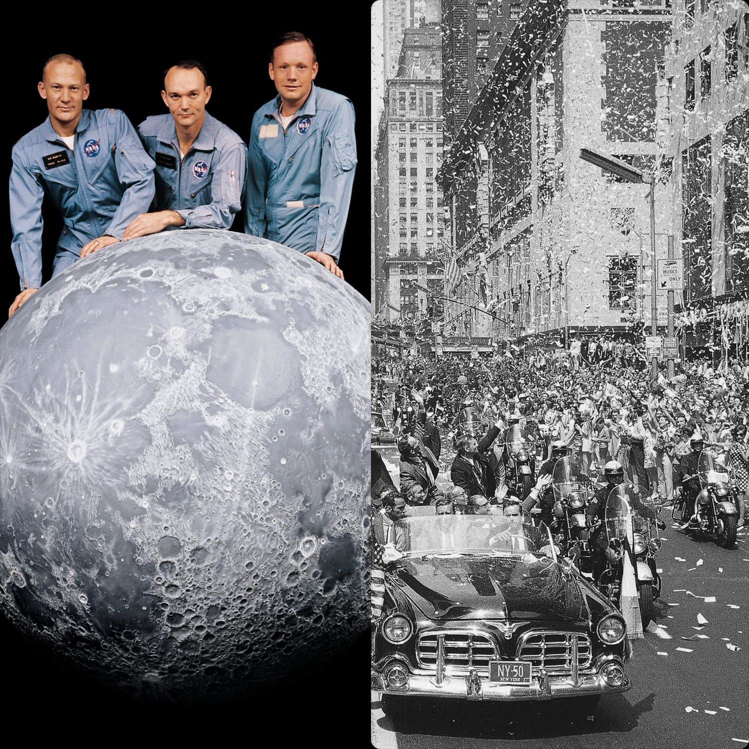 Apollo 11 First man on the moon by Runway Magazine