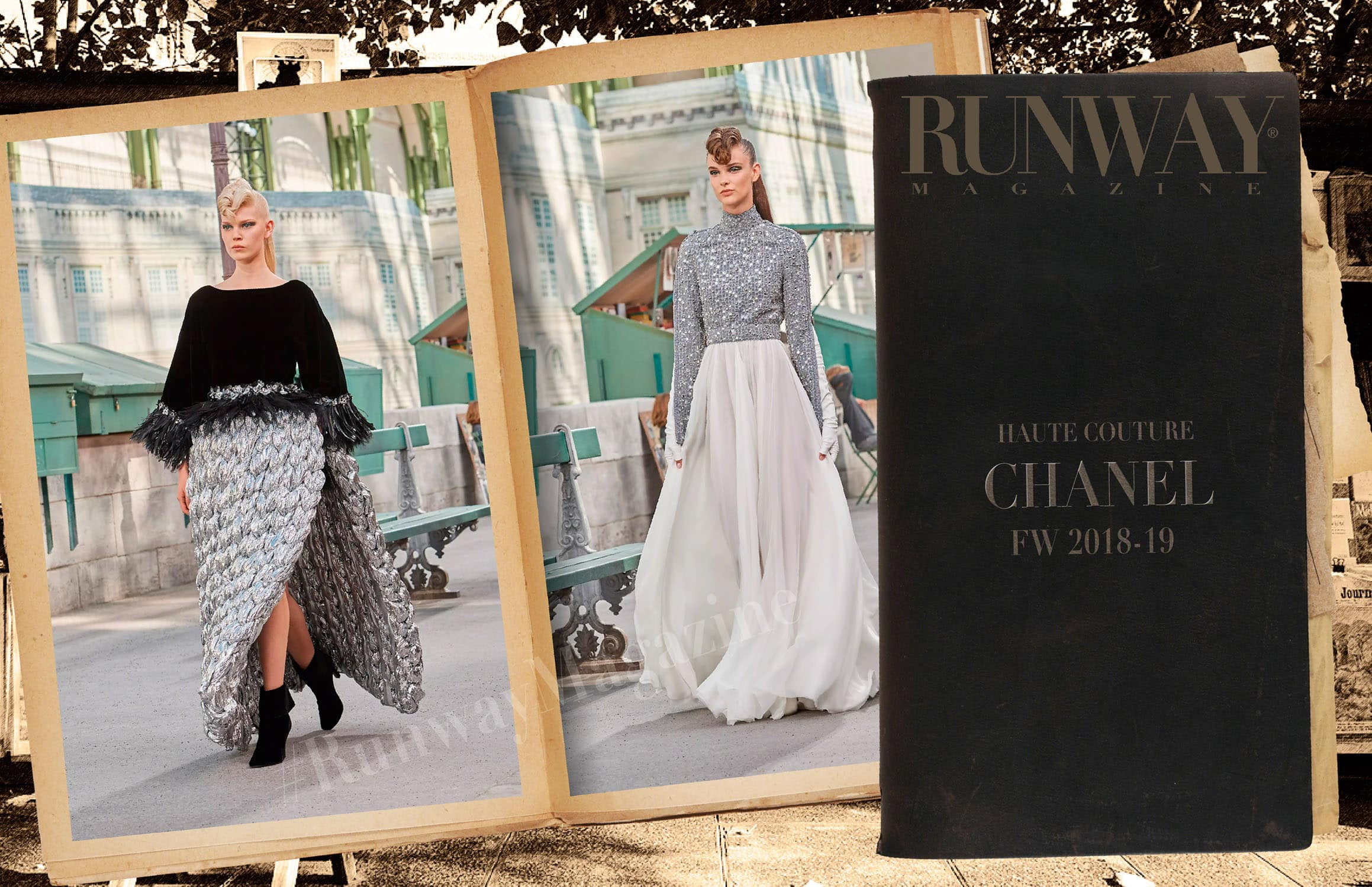 Chanel Haute Couture Fall-Winter 2018-19 by RUNWAY MAGAZINE
