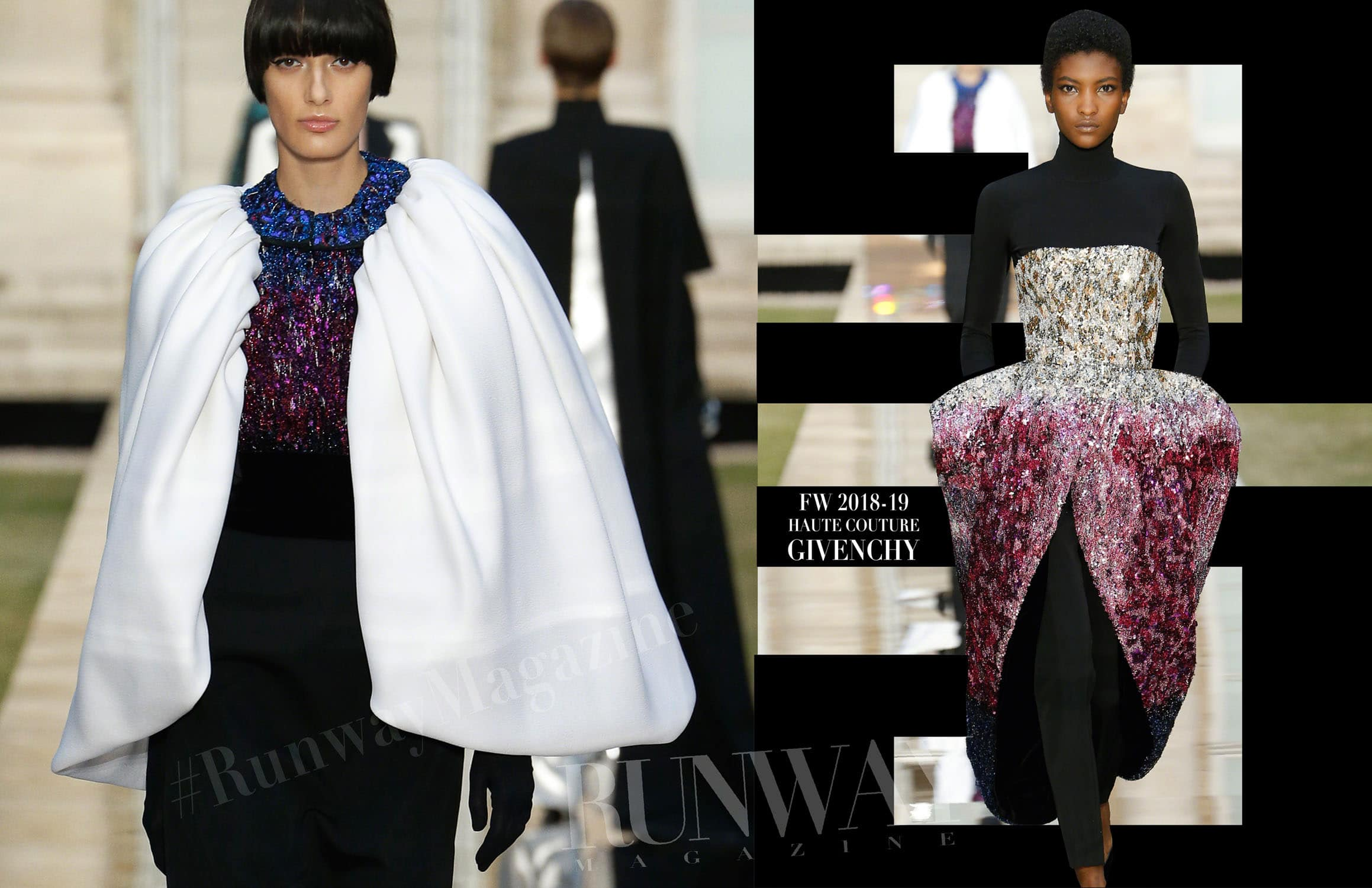 Givenchy Haute Couture Fall Winter 2018-19 Paris Fashion Week by RUNWAY MAGAZINE