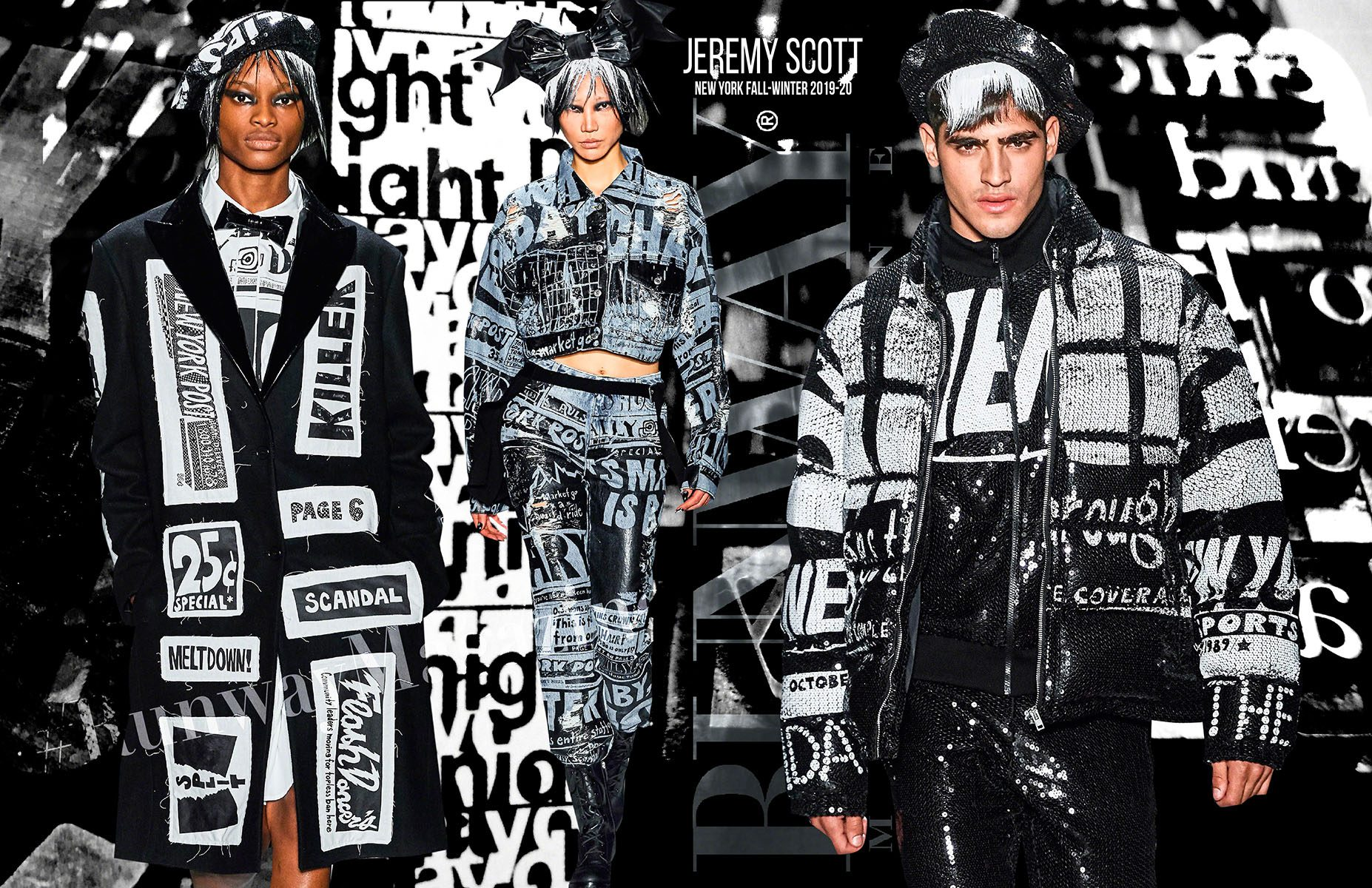 Jeremy Scott Fall-Winter 2019-2020 New York by RUNWAY MAGAZINE