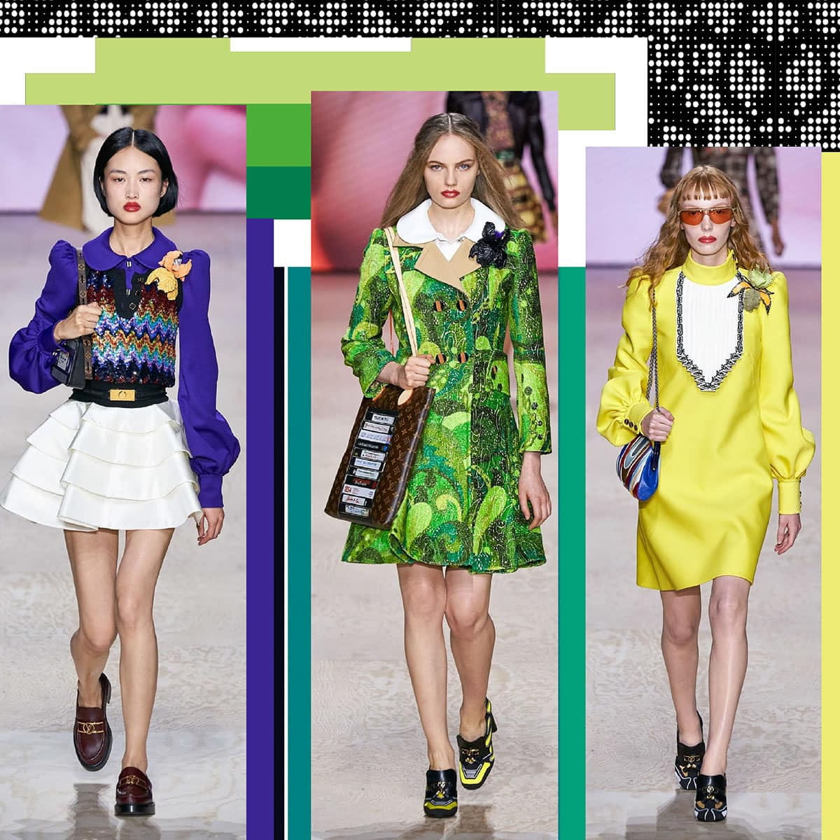 Louis Vuitton Primavera Estate 2020 Paris Fashion Week di RUNWAY MAGAZINE