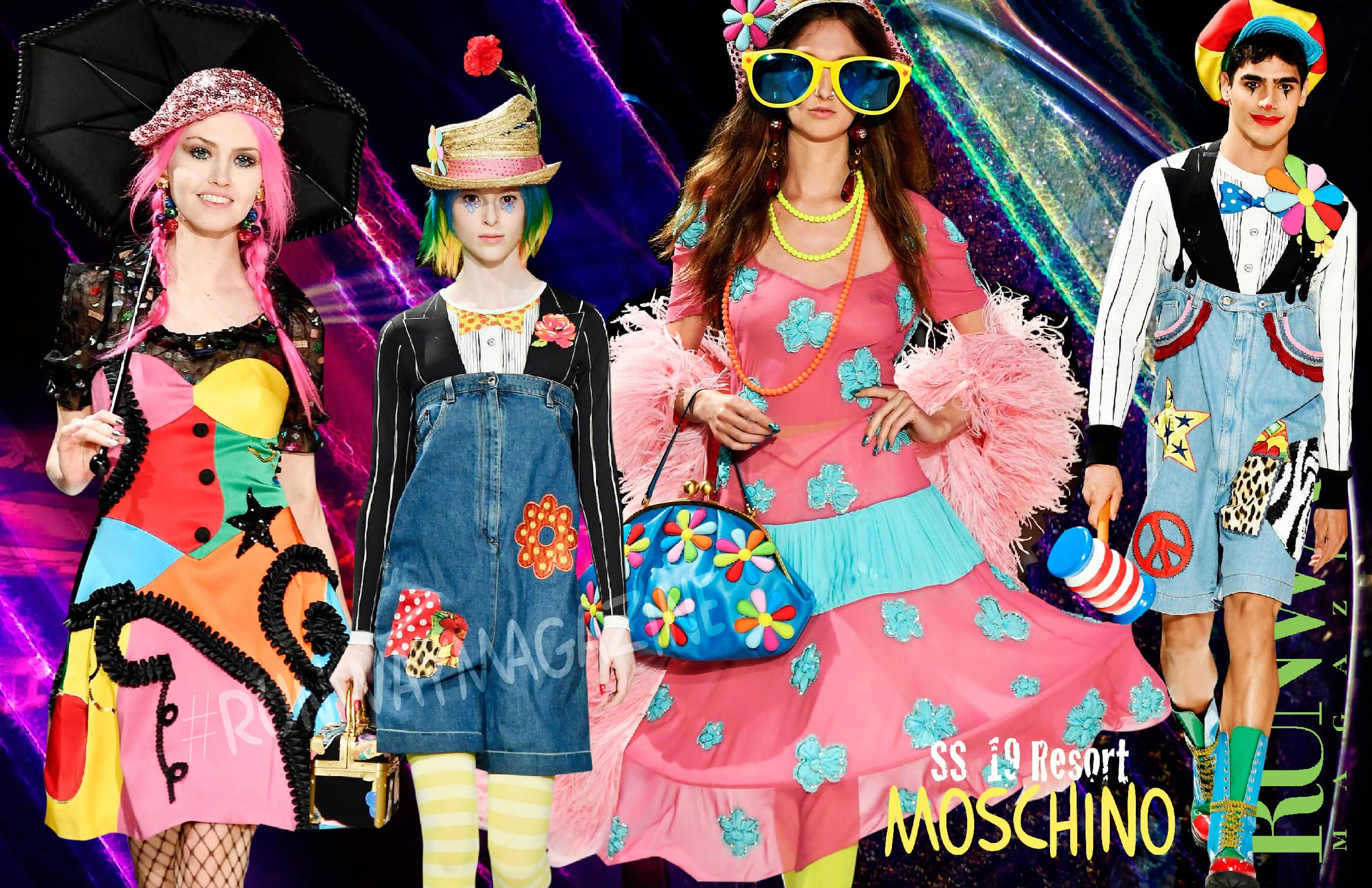 Moschino Circus Resort Summer 2019 by RUNWAY MAGAZINE
