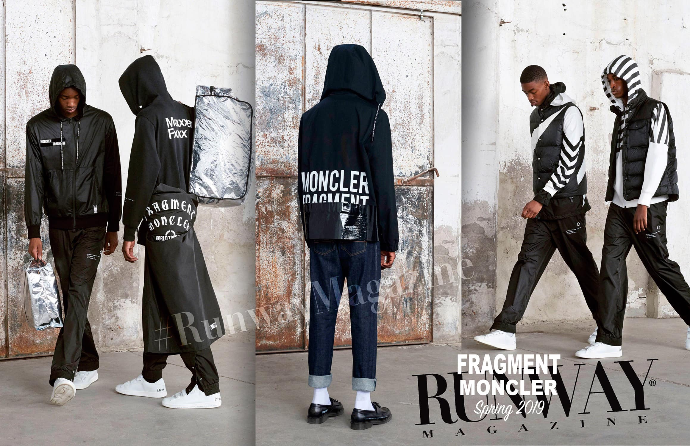 Moncler -Fragment- Spring Summer 2019 Milan by RUNWAY MAGAZINE