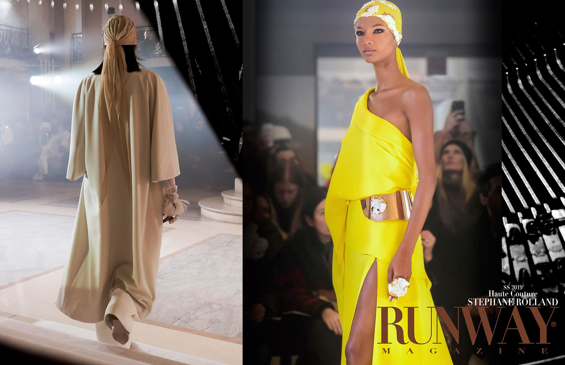 Stephane Rolland Haute Couture Spring Summer 2019 by RUNWAY MAGAZINE
