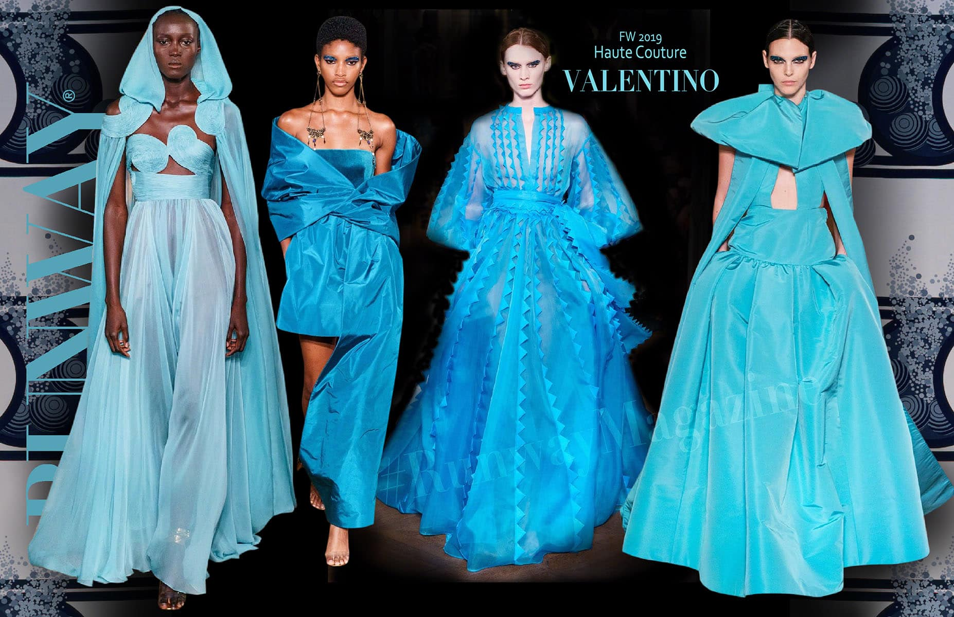 Valentino Haute Couture Fall-Winter 2019-2020 Paris Fashion Week by RUNWAY MAGAZINE