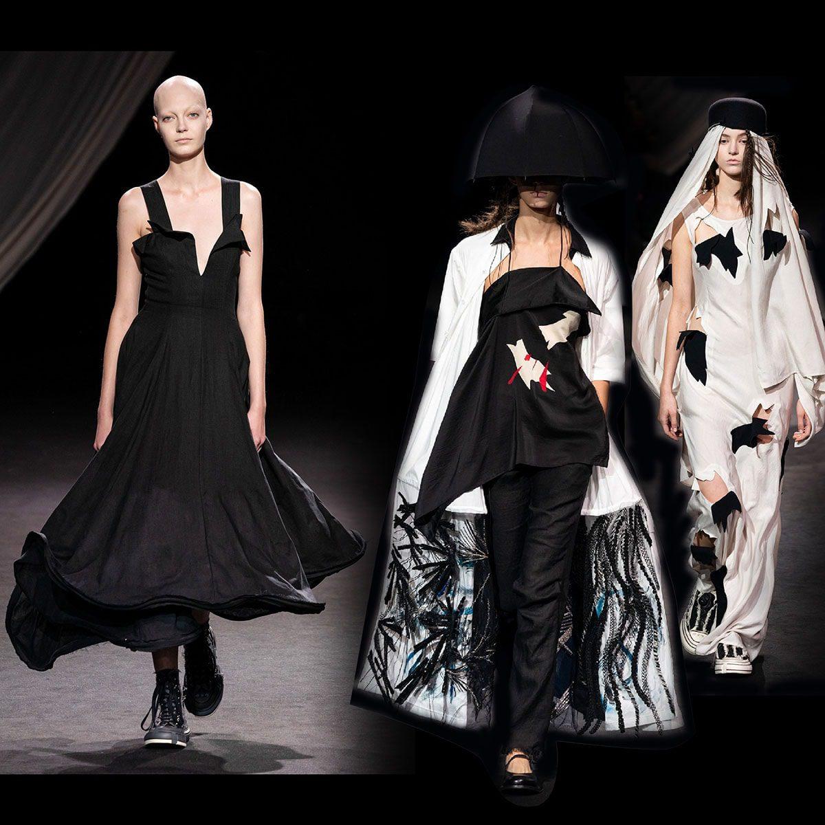 Yohji Yamamoto Primavera Estate 2020 Paris Fashion Week di RUNWAY MAGAZINE
