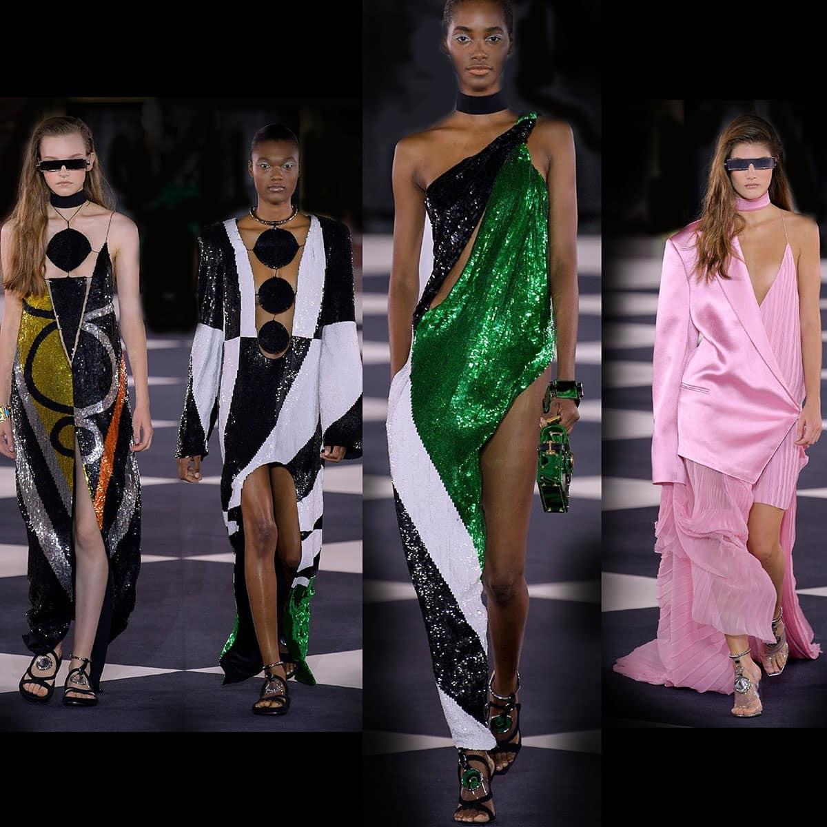 Balmain Primavera Estate 2020 Paris Fashion Week di RUNWAY MAGAZINE