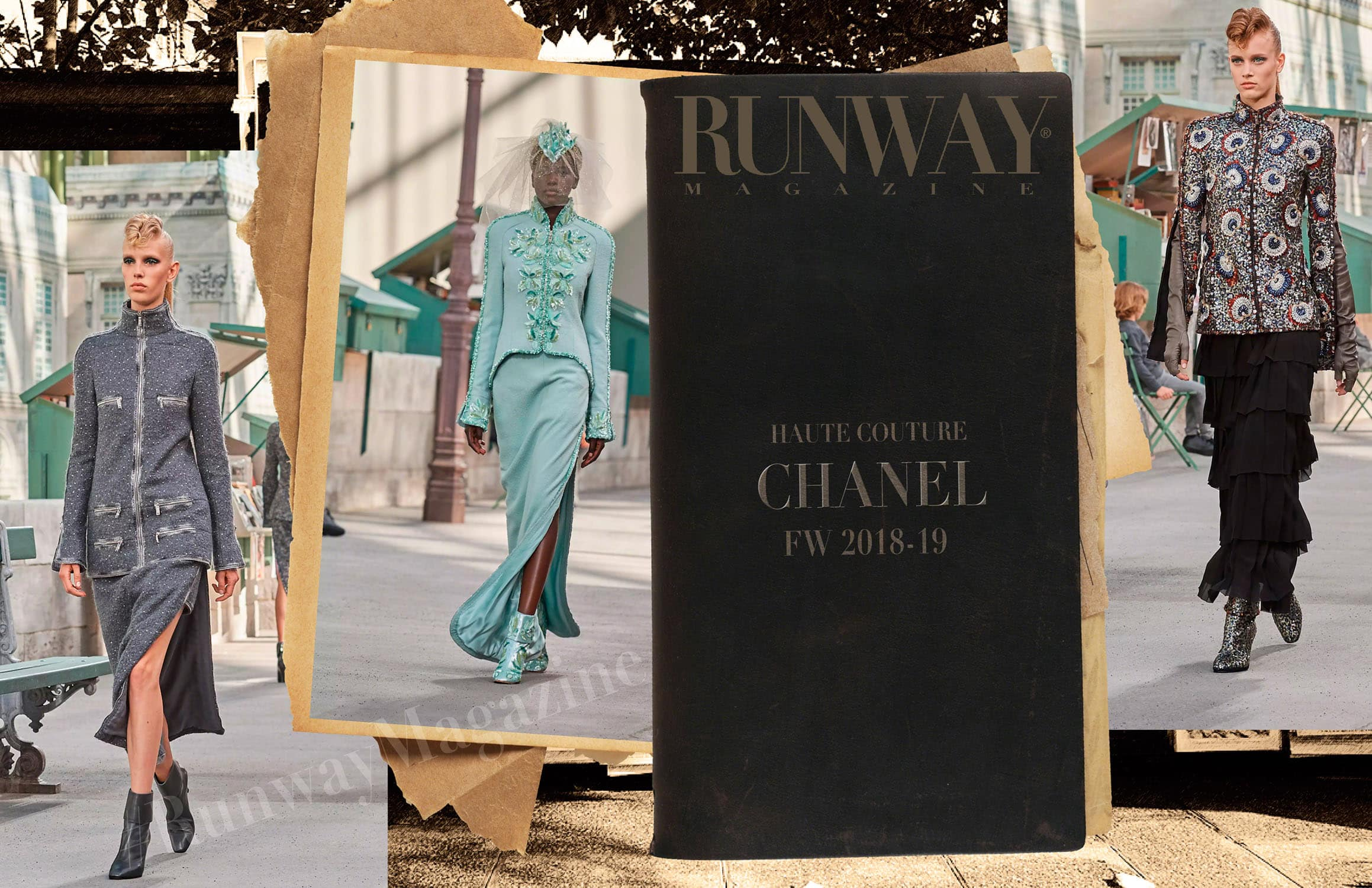 Chanel Haute Couture Autunno-Inverno 2018-19 di RUNWAY MAGAZINE