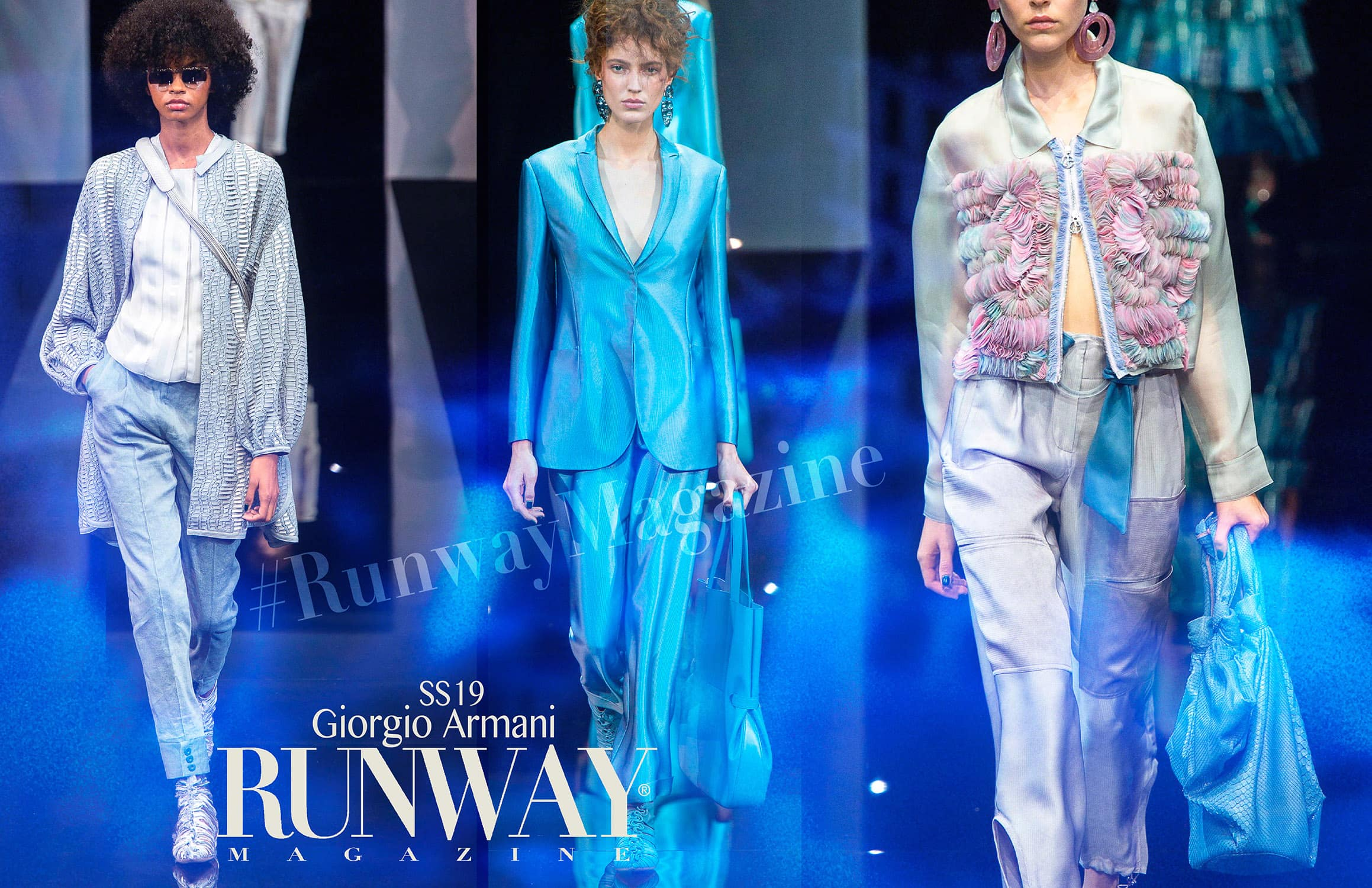 Giorgio Armani Spring Summer 2019 Milan Fashion Week by RUNWAY MAGAZINE