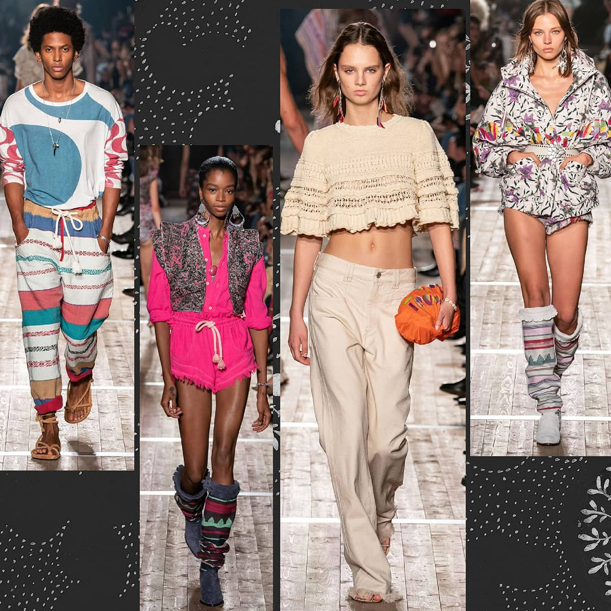 Isabelle Marant Spring Summer 2020 Paris Fashion Week by RUNWAY MAGAZINE