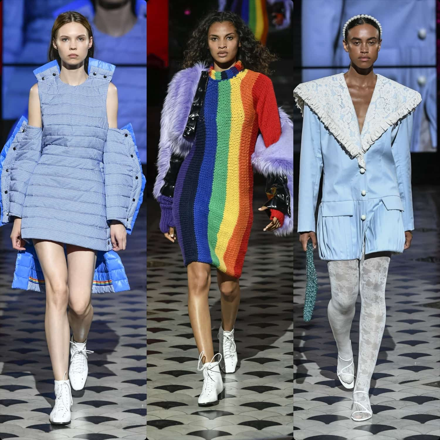 Istituto Marangoni Spring Summer 2020 Milan - RUNWAY MAGAZINE Collections
