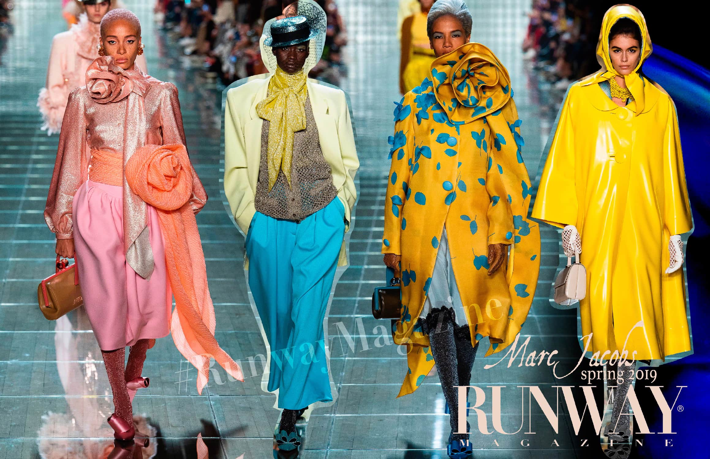 Marc Jacobs Spring Summer 2019 New York Fashion Week by RUNWAY MAGAZINE