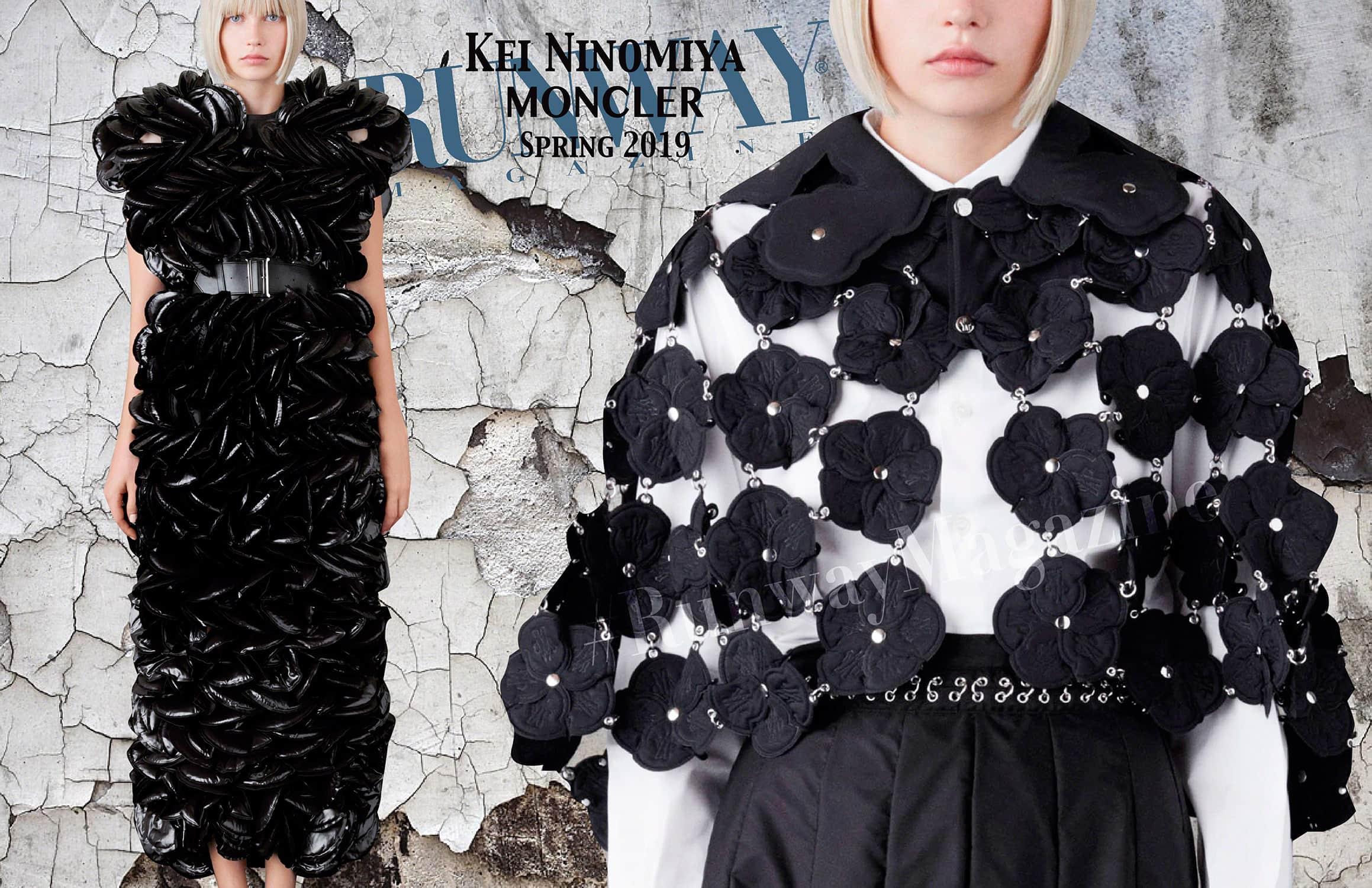 Moncler -Kei Ninomiya- Spring Summer 2019 Milan by RUNWAY MAGAZINE