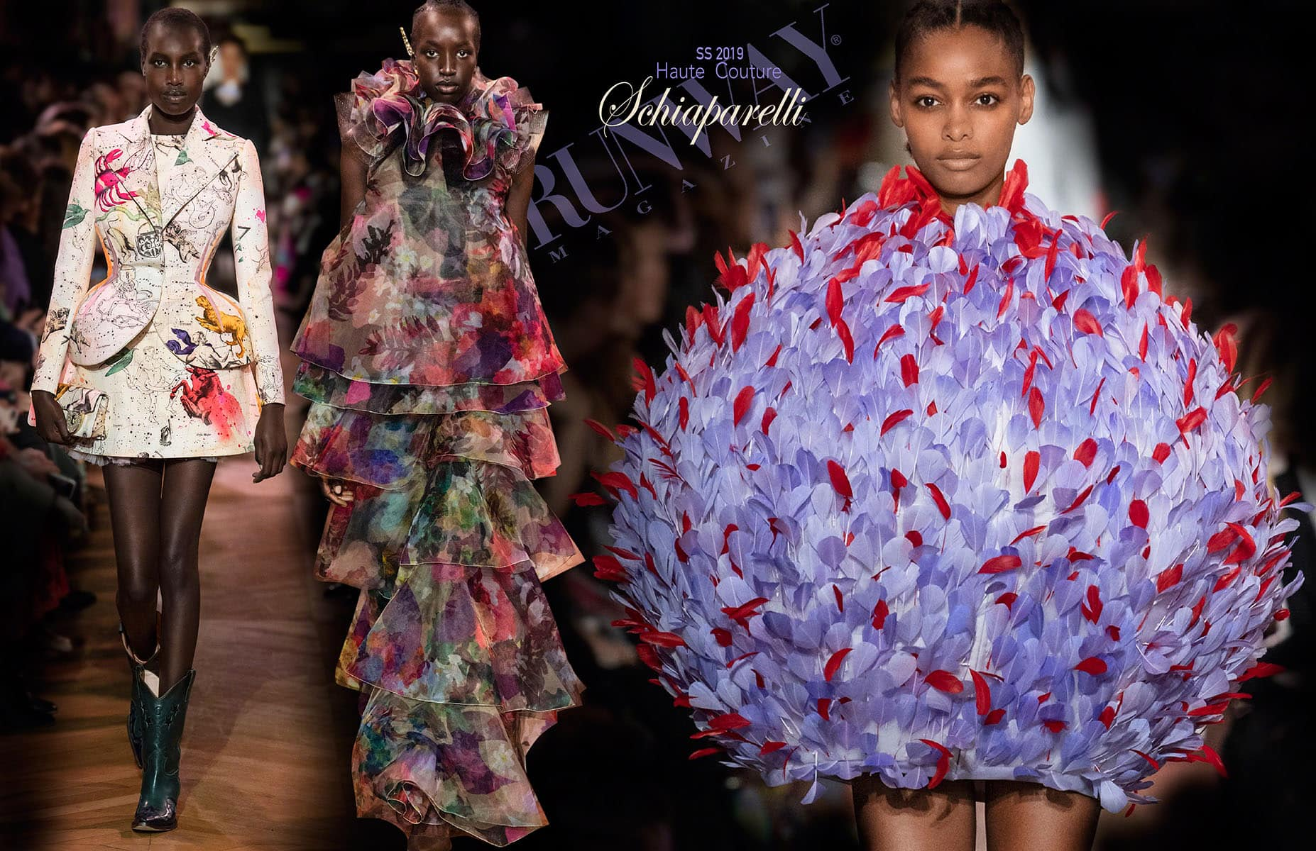 Schiaparelli Haute Couture Spring Summer 2019 by RUNWAY MAGAZINE