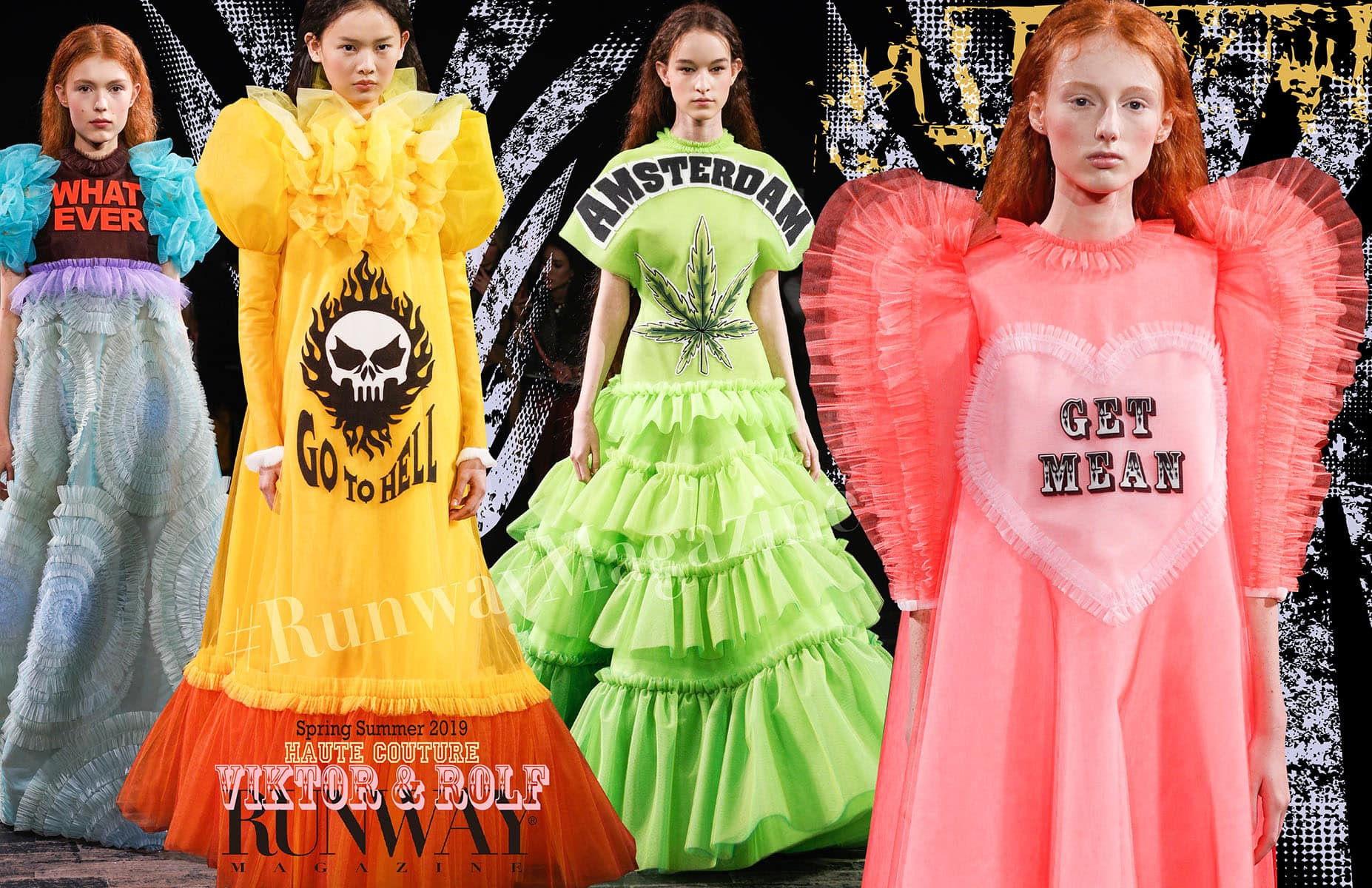 Viktor&Rolf Haute Couture Spring Summer 2019 by RUNWAY MAGAZINE