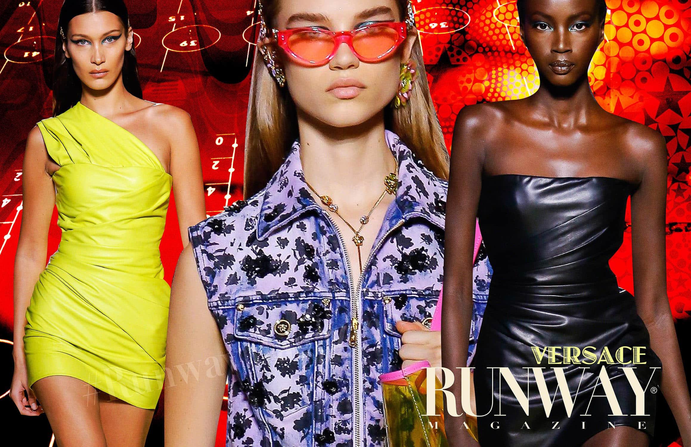 Versace Spring Summer 2019 Milan by RUNWAY MAGAZINE