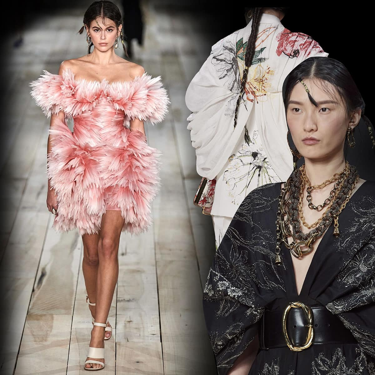 Alexander McQueen Primavera Estate 2020 Paris Fashion Week di RUNWAY MAGAZINE