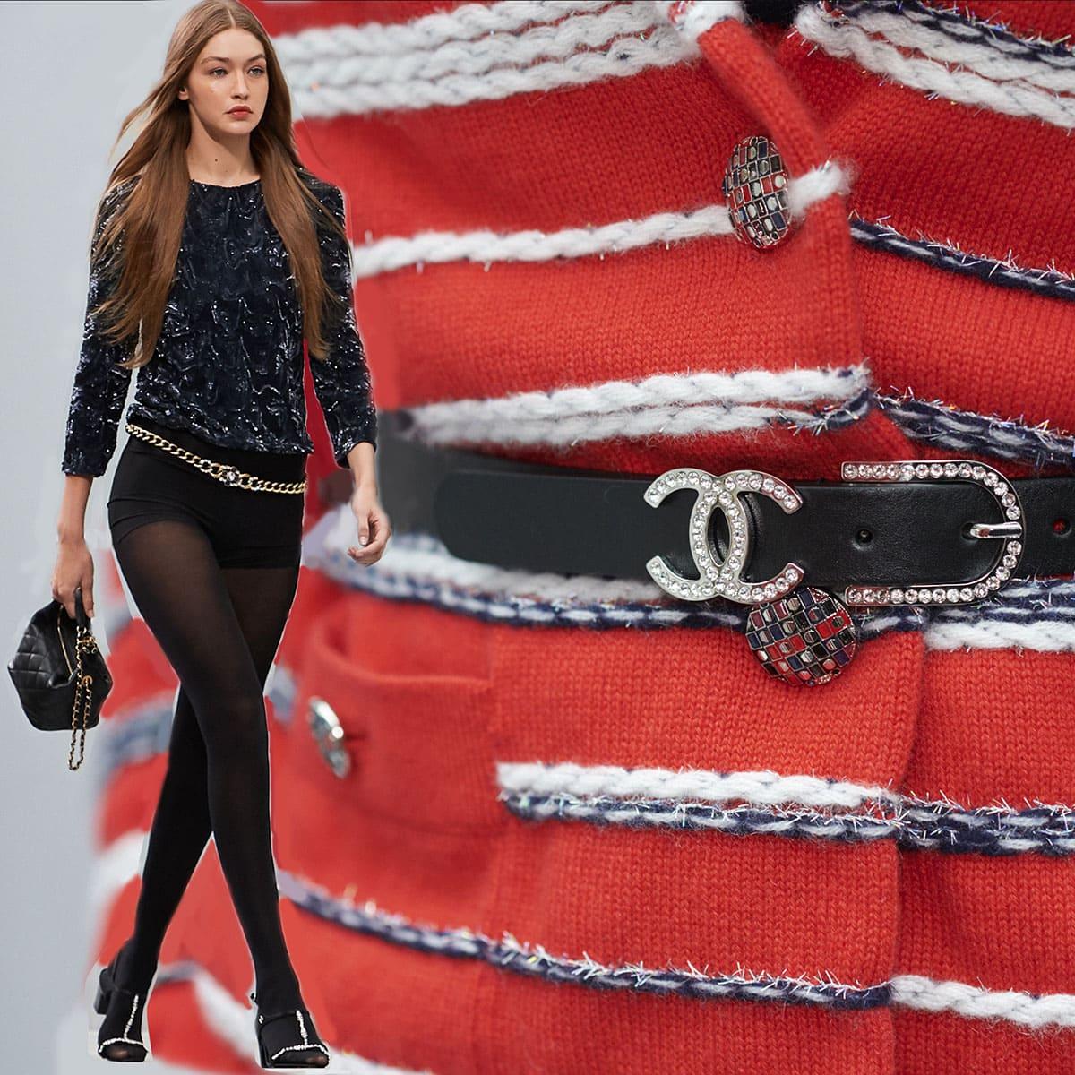 Chanel Primavera Estate 2020 Paris Fashion Week di RUNWAY MAGAZINE