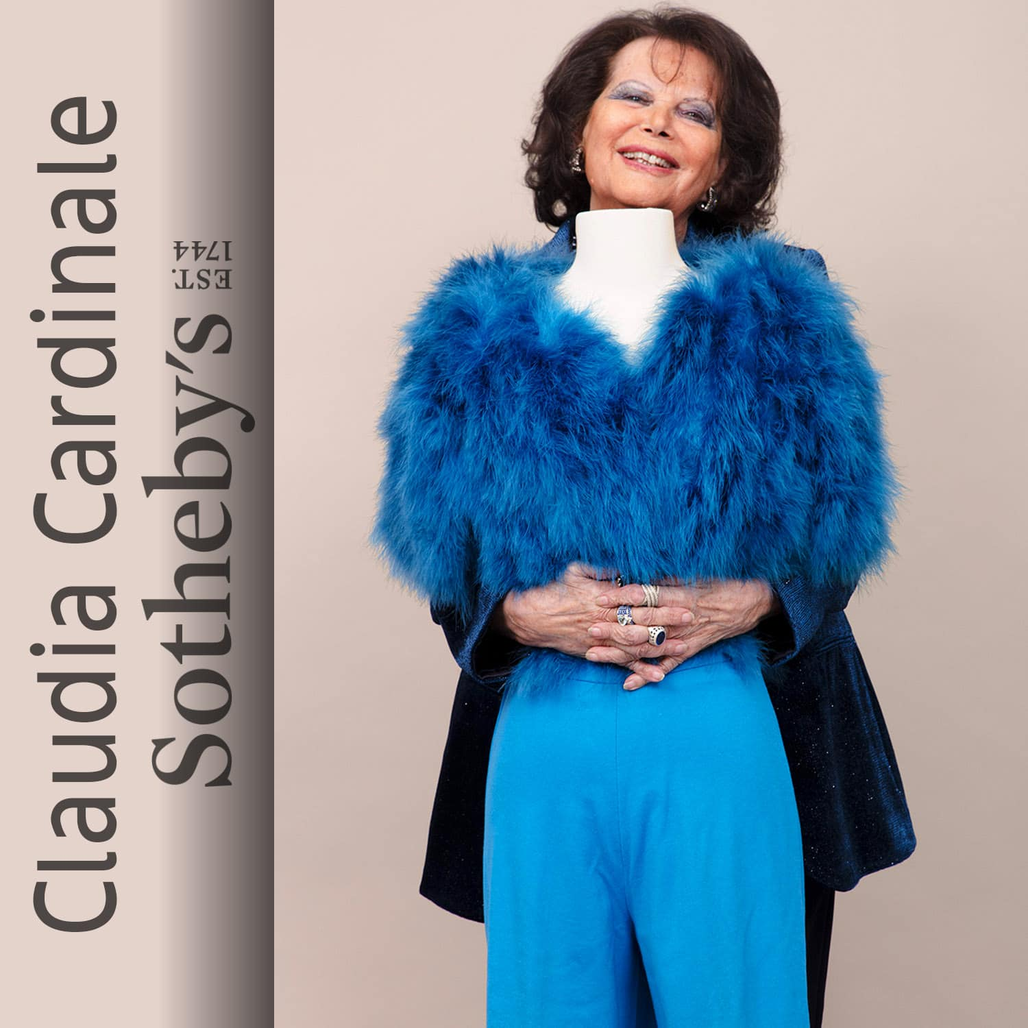 Claudia Cardinale at Sotheby's Paris by Runway Magazine