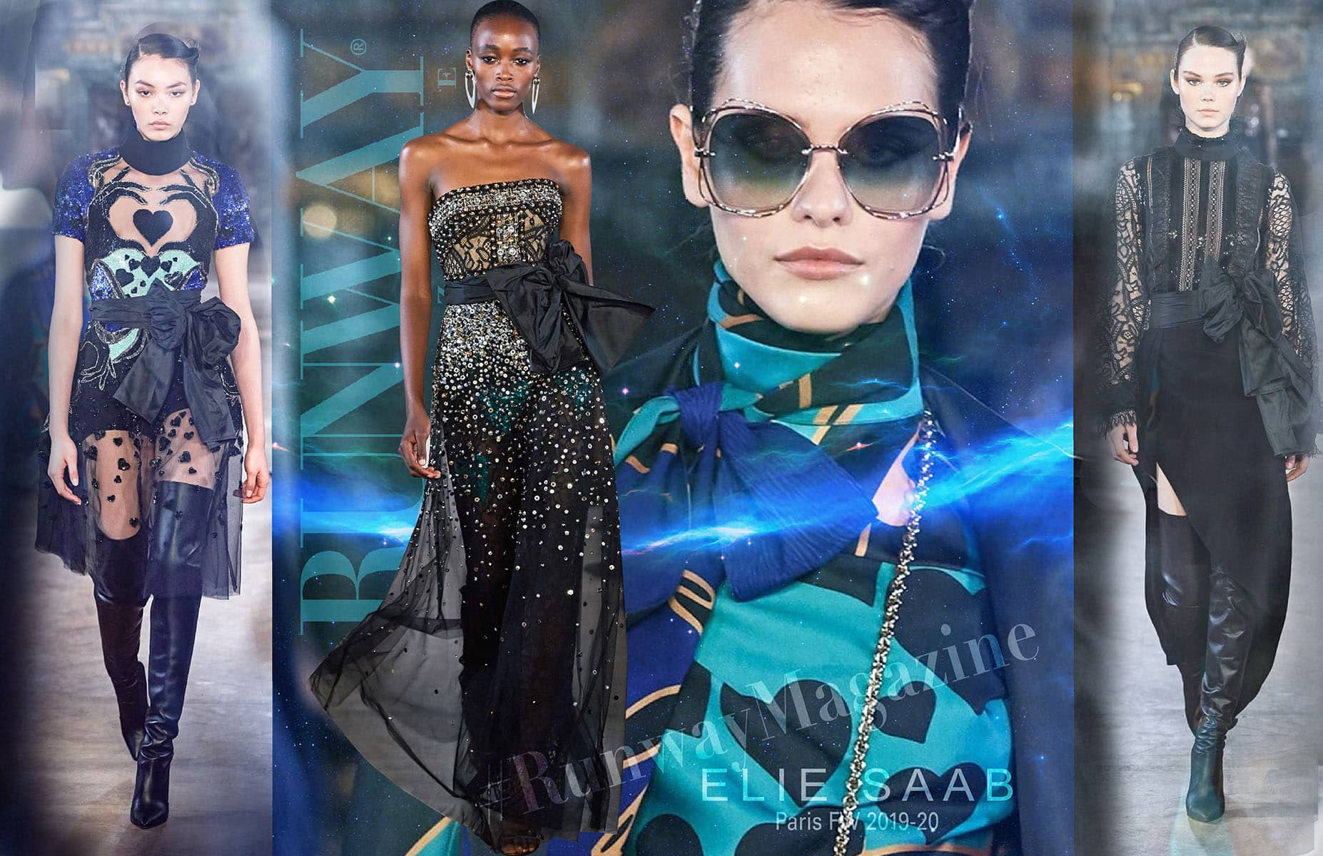 Elie Saab Fall-Winter 2019-2020 Paris by RUNWAY MAGAZINE