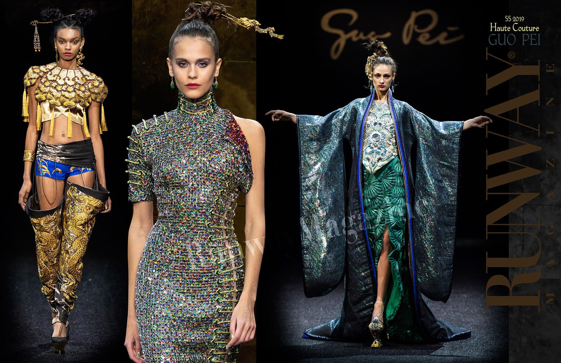 Guo Pei Haute Couture Spring-Summer 2019 by RUNWAY MAGAZINE