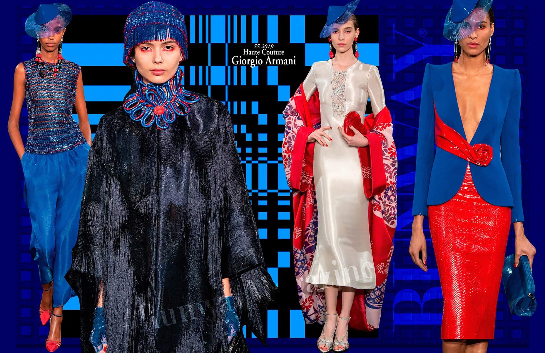 Giorgio Armani Haute Couture Spring Summer 2019 by RUNWAY MAGAZINE