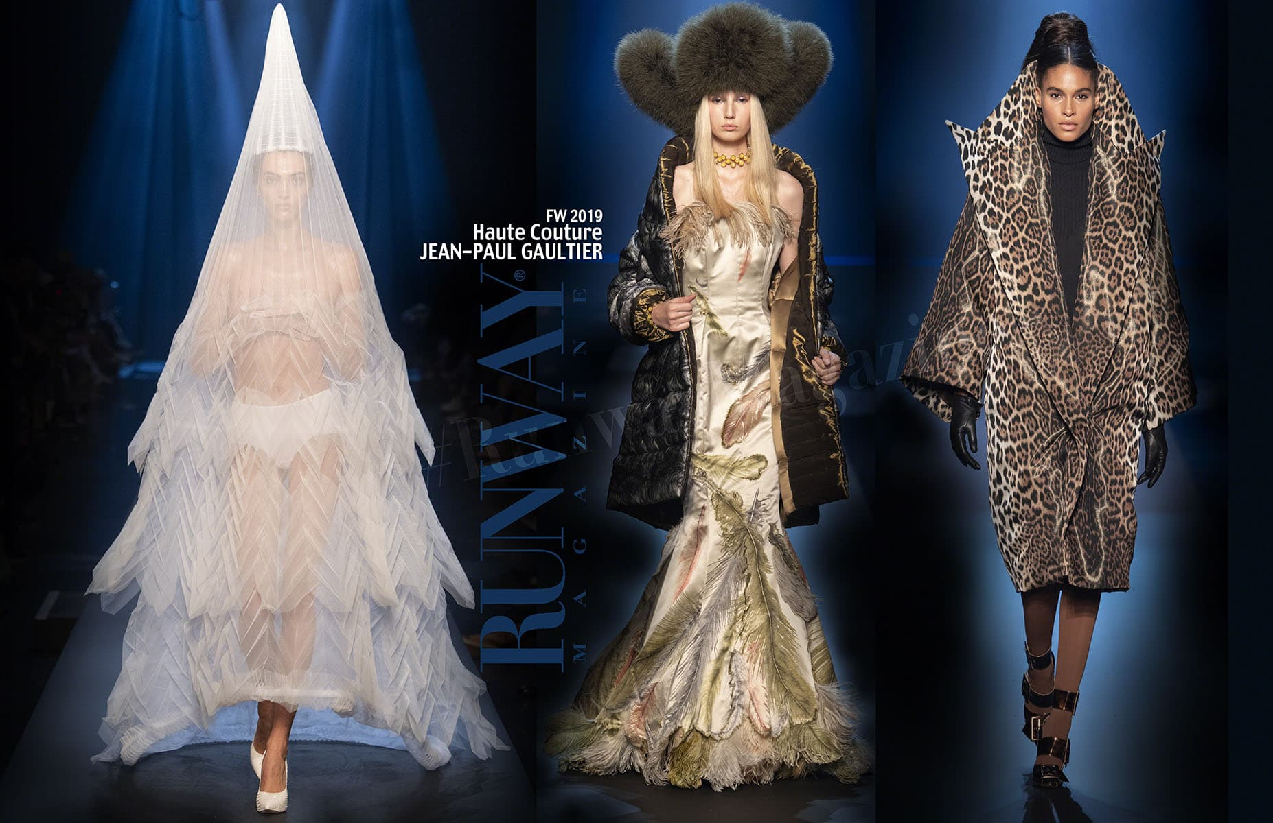 Jean Paul Gaultier Haute Couture Fall-Winter 2019-2020 Paris by RUNWAY MAGAZINE