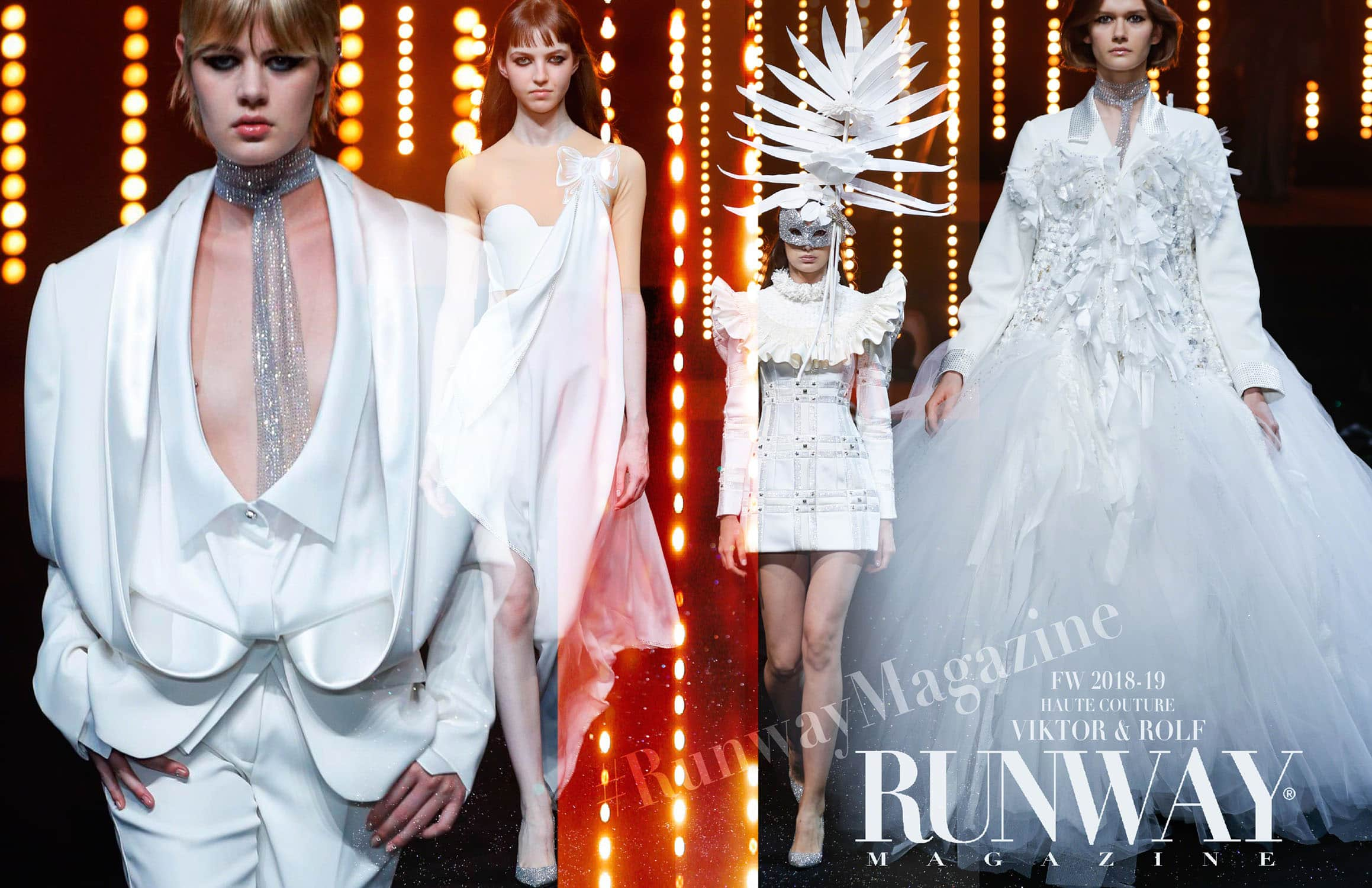 Viktor Rolf Haute Couture Fall-Winter 2018-19 by RUNWAY MAGAZINE