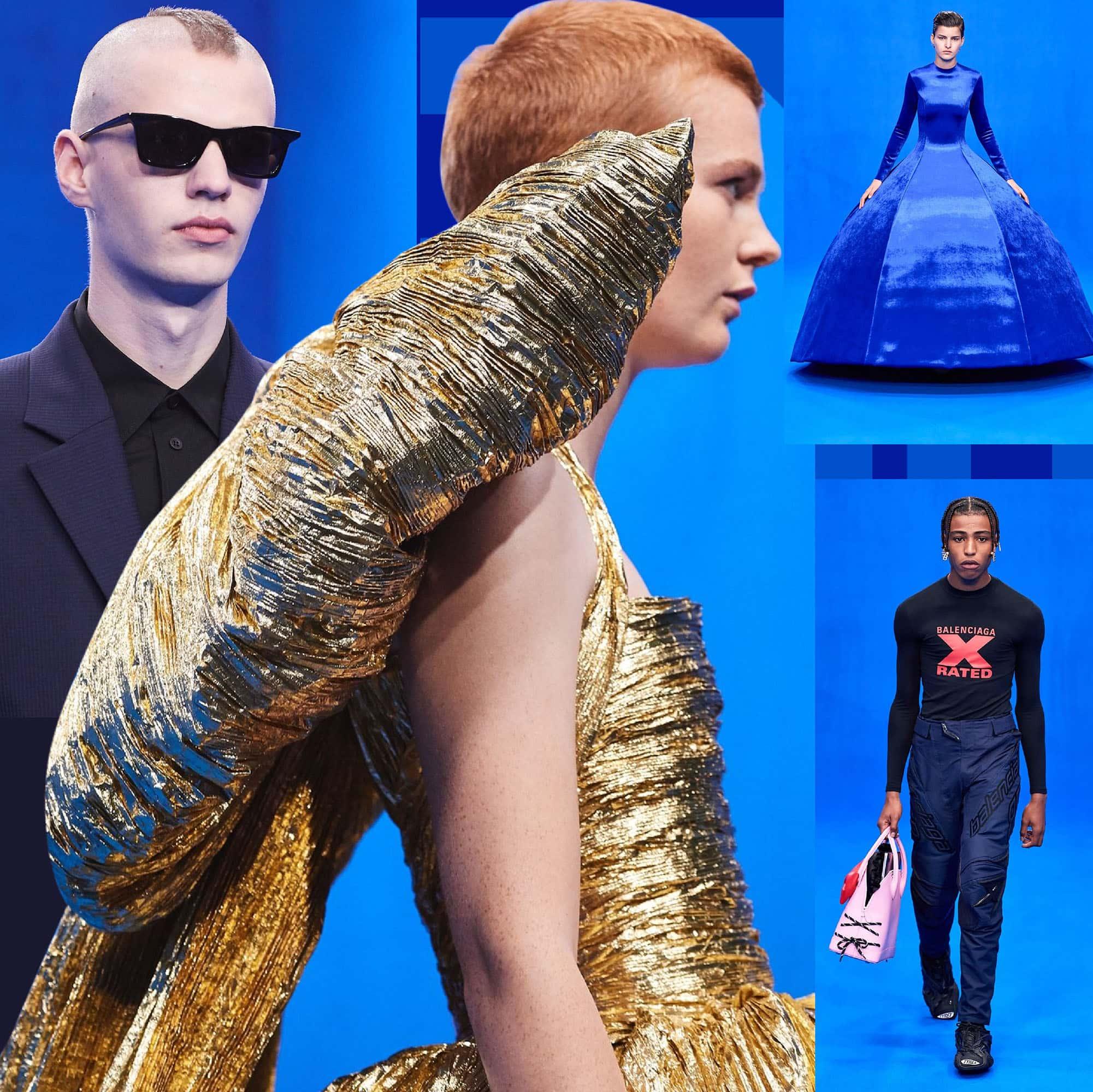 Balenciaga Primavera Estate 2020 Paris Fashion Week di RUNWAY MAGAZINE