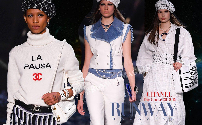Chanel cruise 2018-19 by RUNWAY MAGAZINE