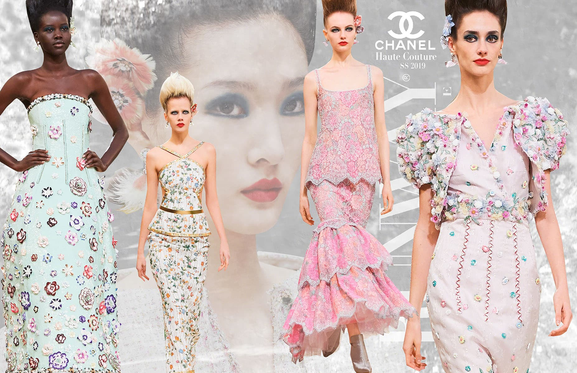 Chanel Haute Couture Spring-Summer 2019 Last Collection of Karl Lagerfeld