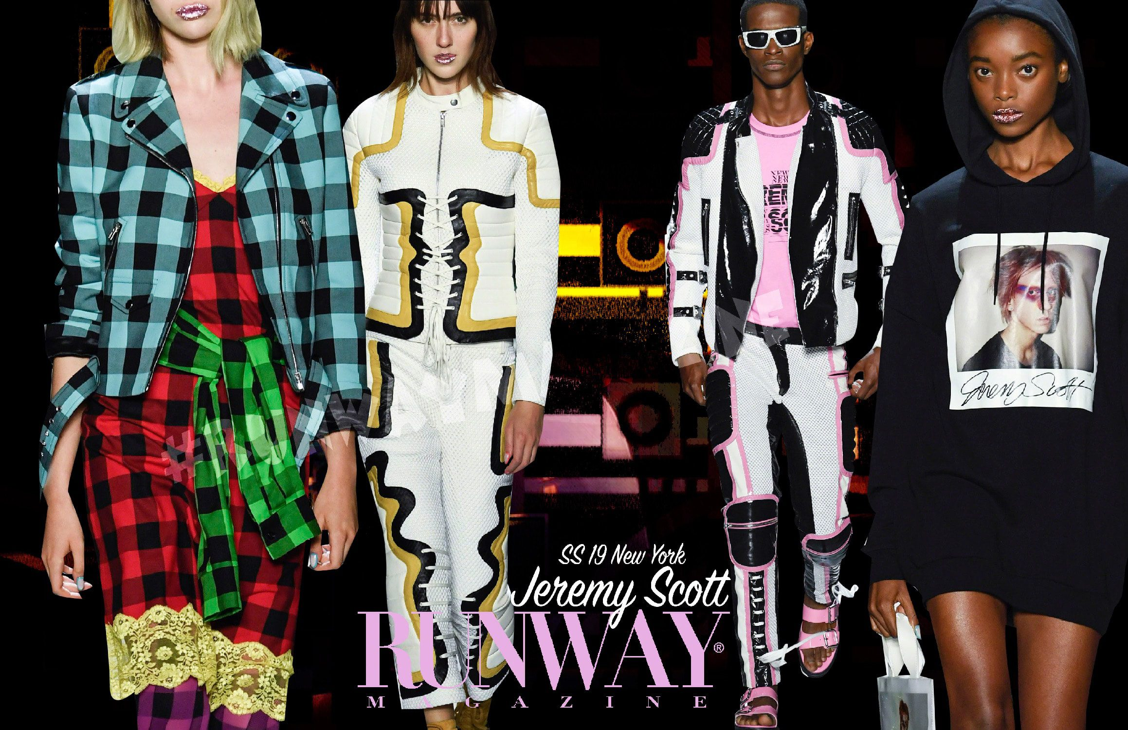 Jeremy Scott Spring Summer 2019 New York by RUNWAY MAGAZINE