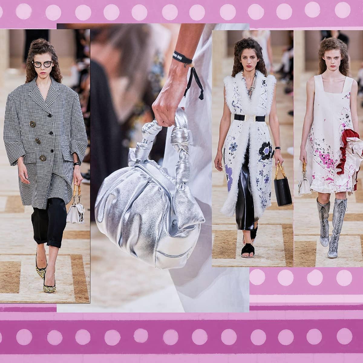 Miu Miu Primavera Estate 2020 Paris Fashion Week di RUNWAY MAGAZINE