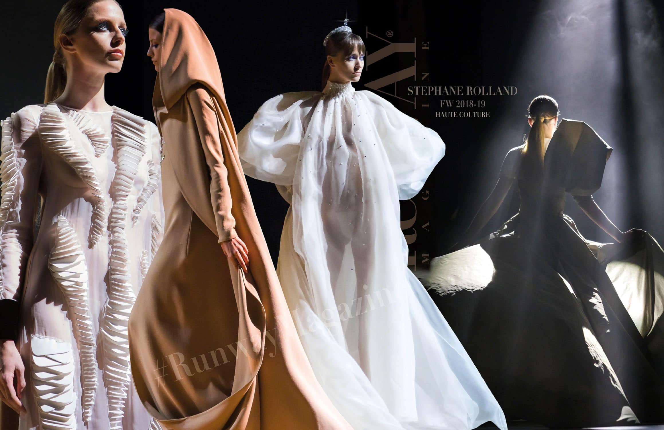 Stephane Rolland Haute Couture Fall-Winter 2018-19 Paris Fashion Week by RUNWAY MAGAZINE