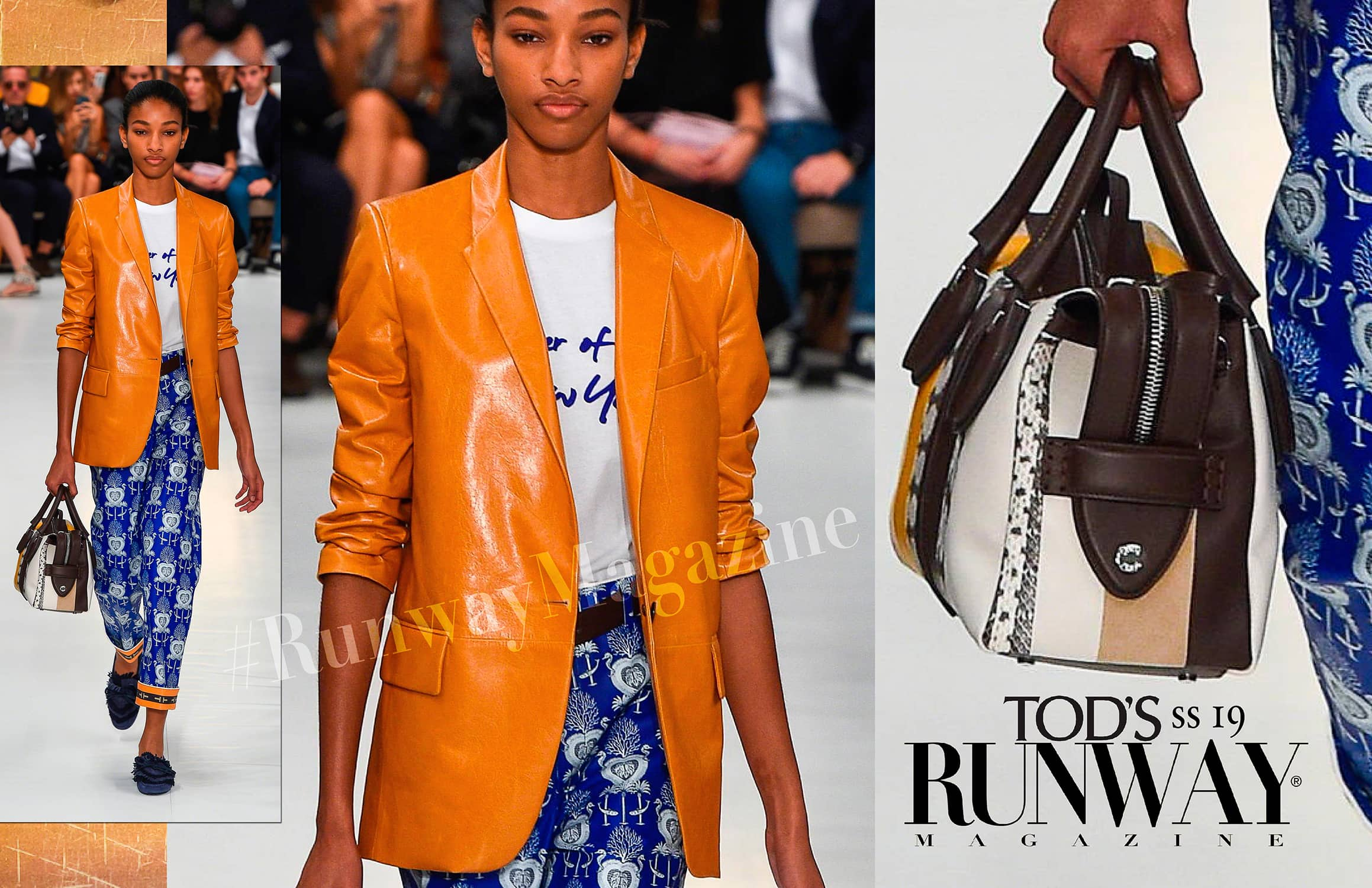 Tod's Spring Summer 2019 Milan Fashion Week by RUNWAY MAGAZINE
