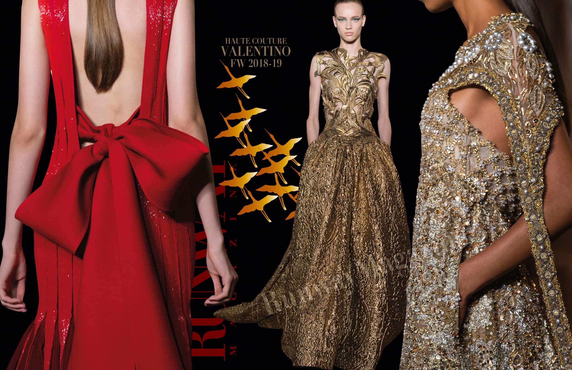 Valentino Haute Couture Fall-Winter 2018-19 Paris Fashion Week by RUNWAY MAGAZINE