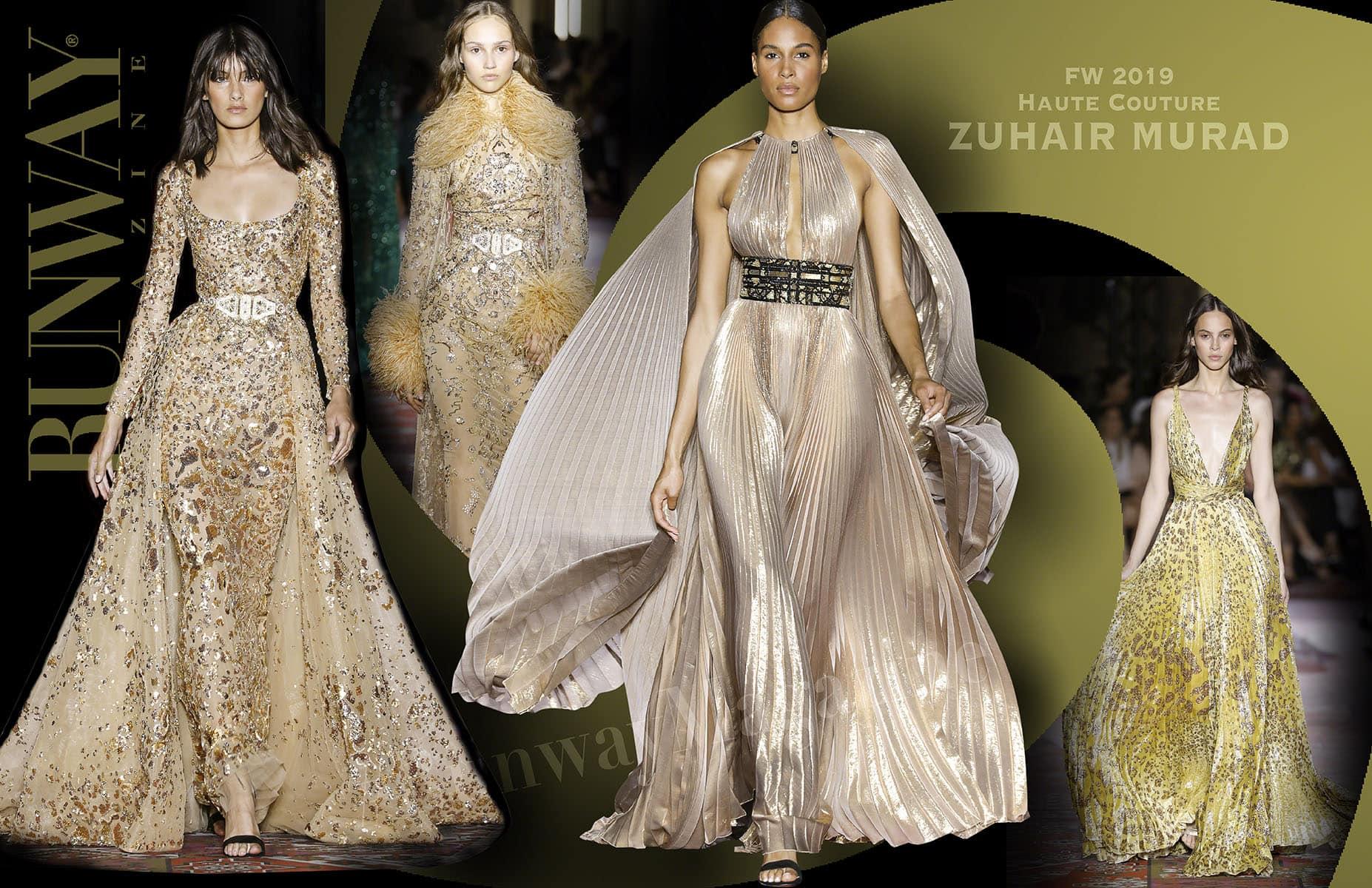Zuhair Murad Haute Couture Fall-Winter 2019-2020 Paris Fashion Week by RUNWAY MAGAZINE