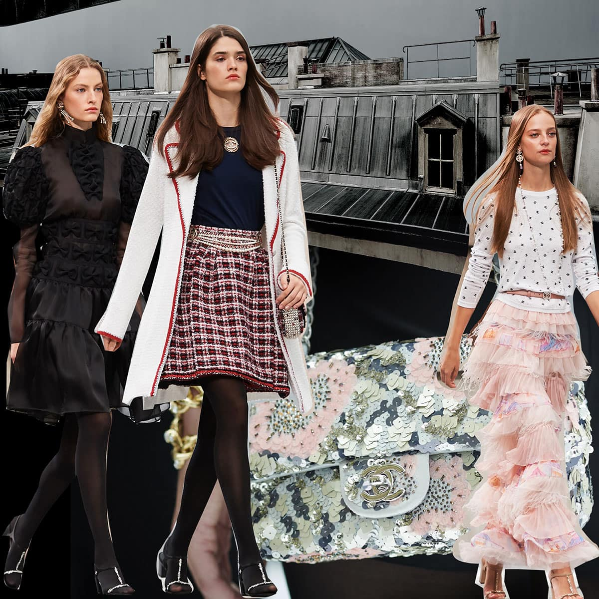 Chanel Spring Summer 2020 Paris Fashion Week by RUNWAY MAGAZINE