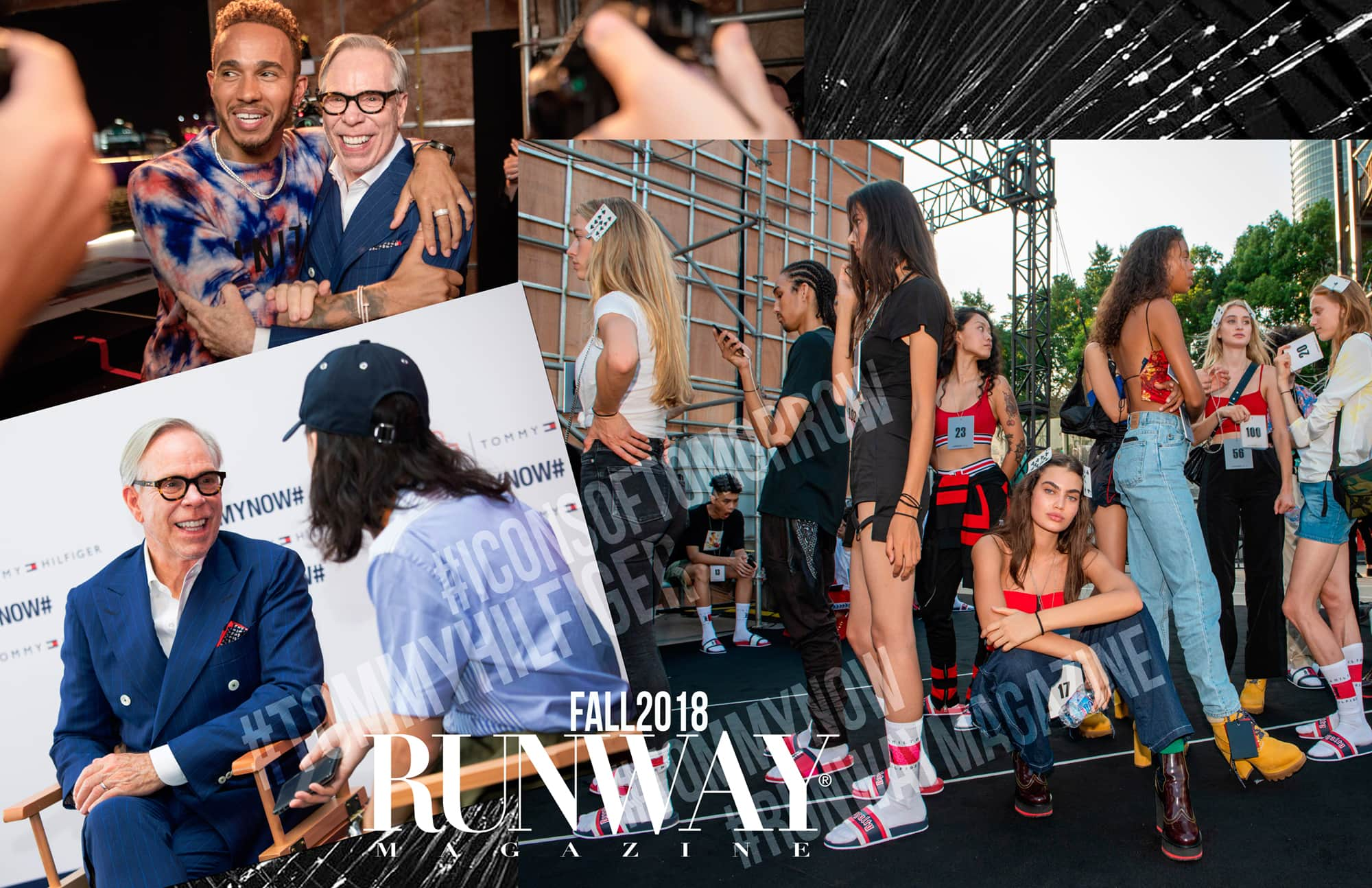 TOMMYNOW ICONS Fall 2018 Shanghai show by RUNWAY MAGAZINE