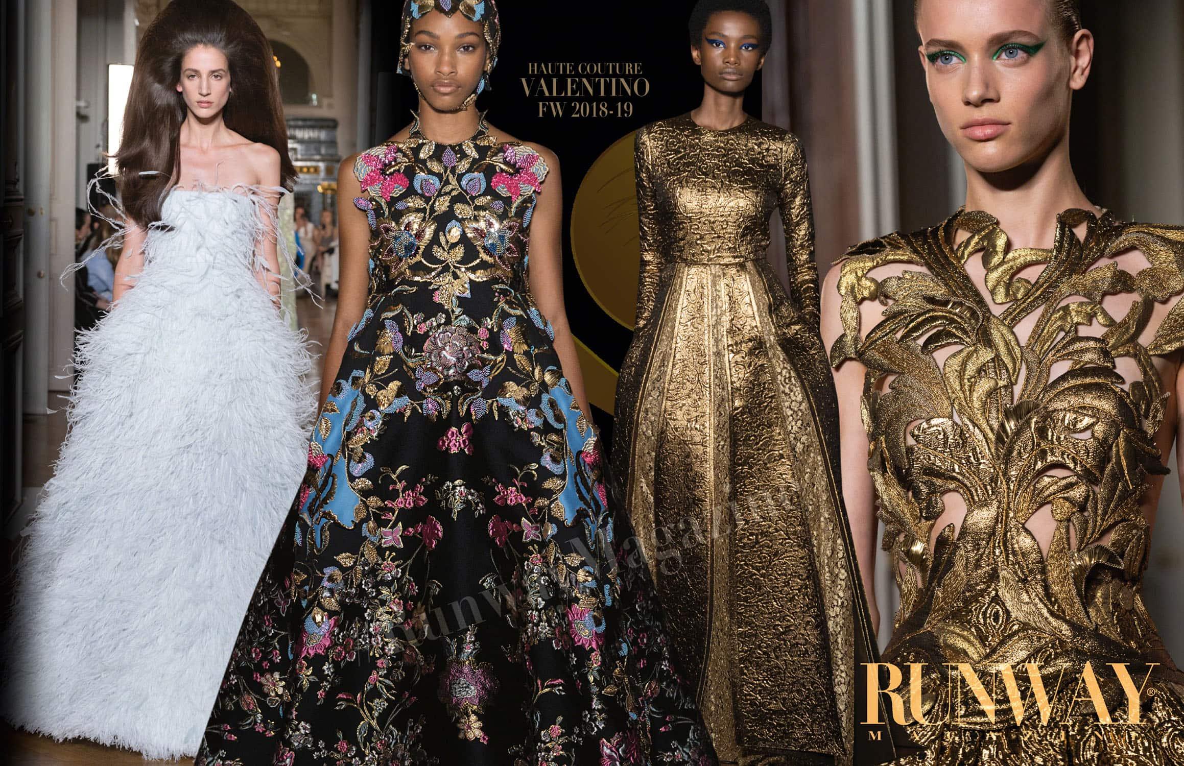 Неделя моды в Париже осень-зима 2018-19 от Valentino Haute Couture, автор: RUNWAY ЖУРНАЛ