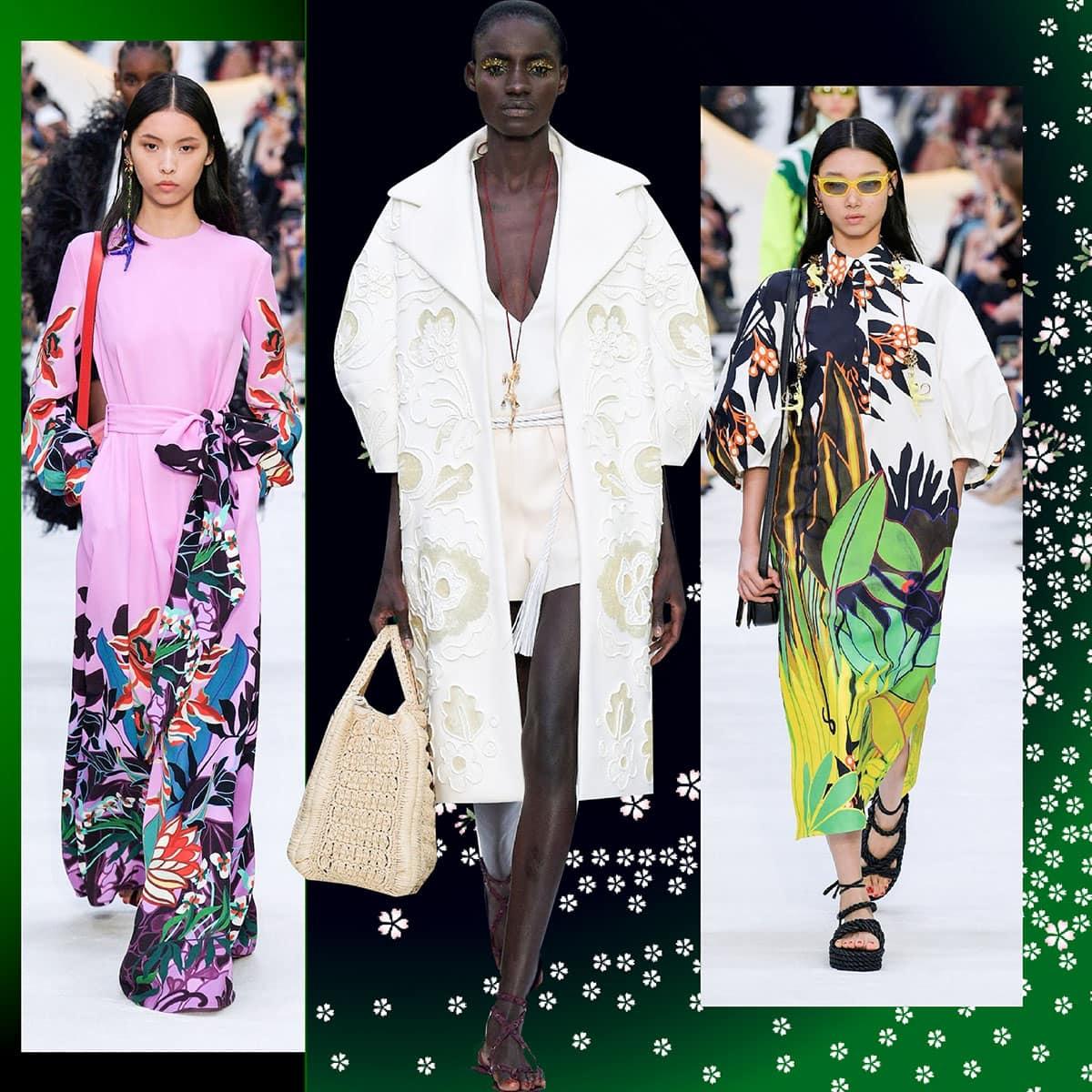 Valentino Primavera Estate 2020 Paris Fashion Week di RUNWAY MAGAZINE