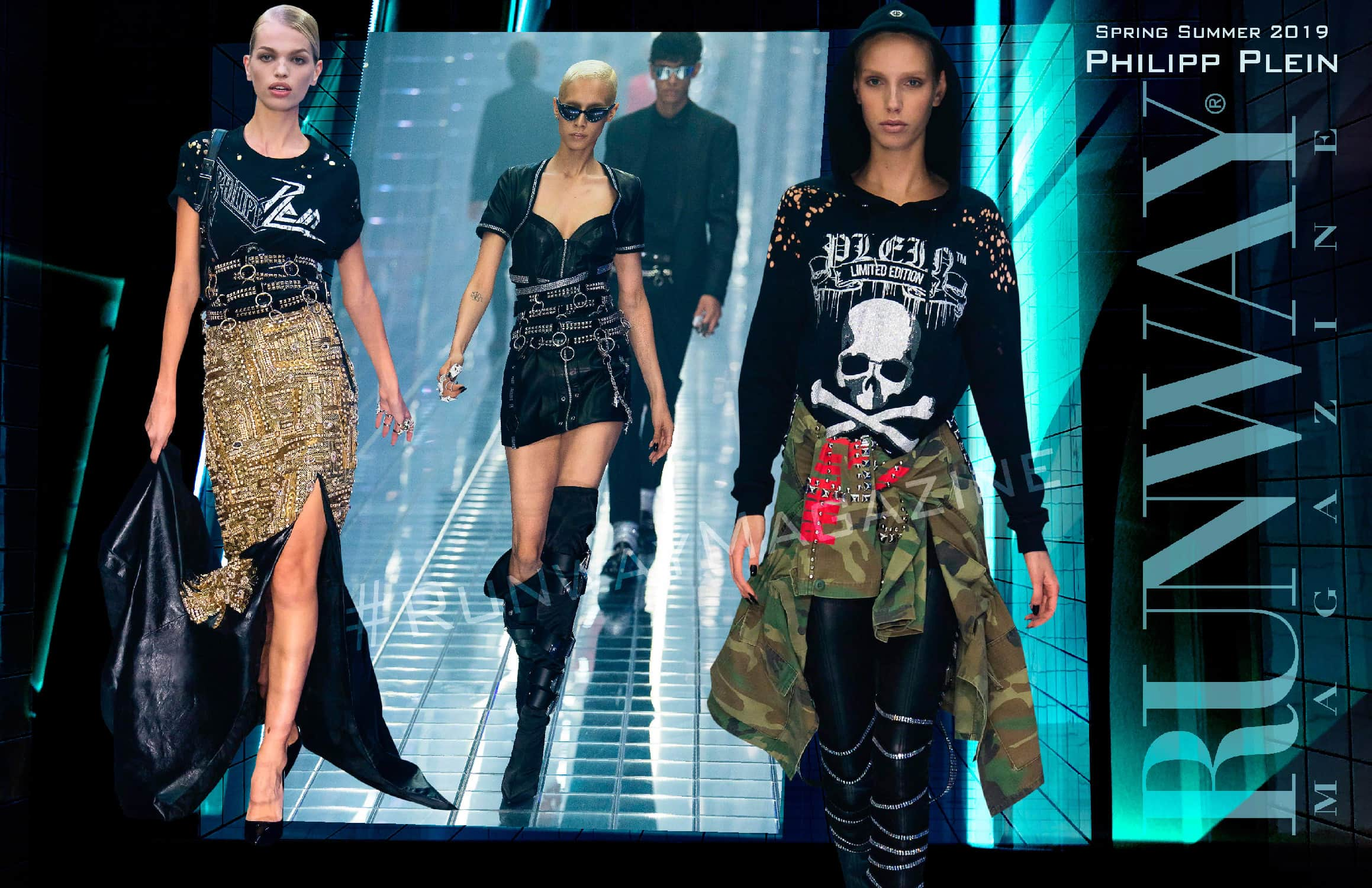 Philipp Plein Spring Summer 2019 Milan Fashion Week by RUNWAY MAGAZINE