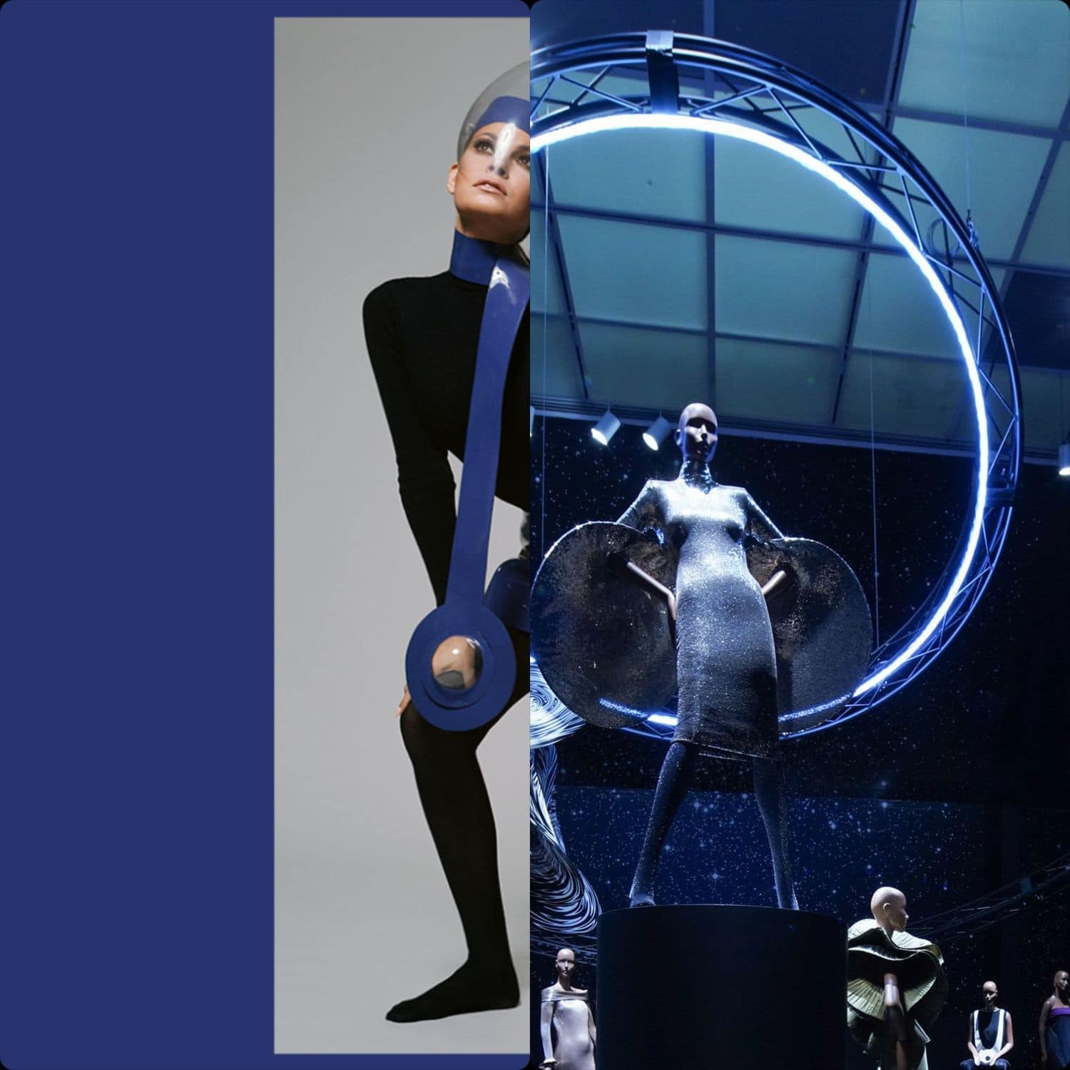 Pierre Cardin exhibition in Metropolitan Museum New York for 50th anniversary of First Man in the Moon by Runway Magazine