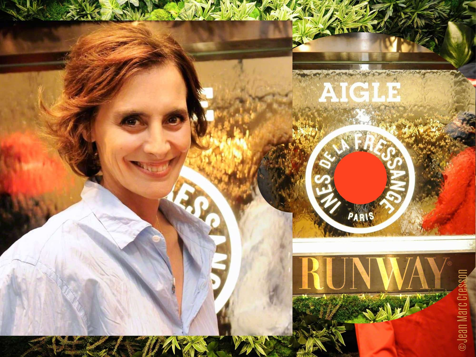 Ines de la Fressange x Aigle Capsule Collection by Runway Magazine